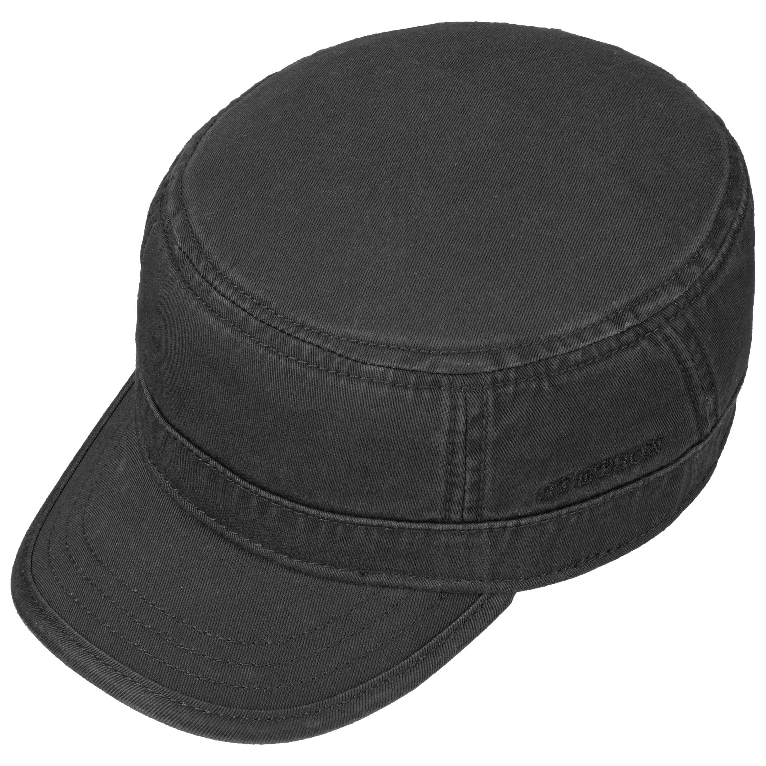 ... Gosper Army Cap by Stetson - black 1 ... e947c24fe0d