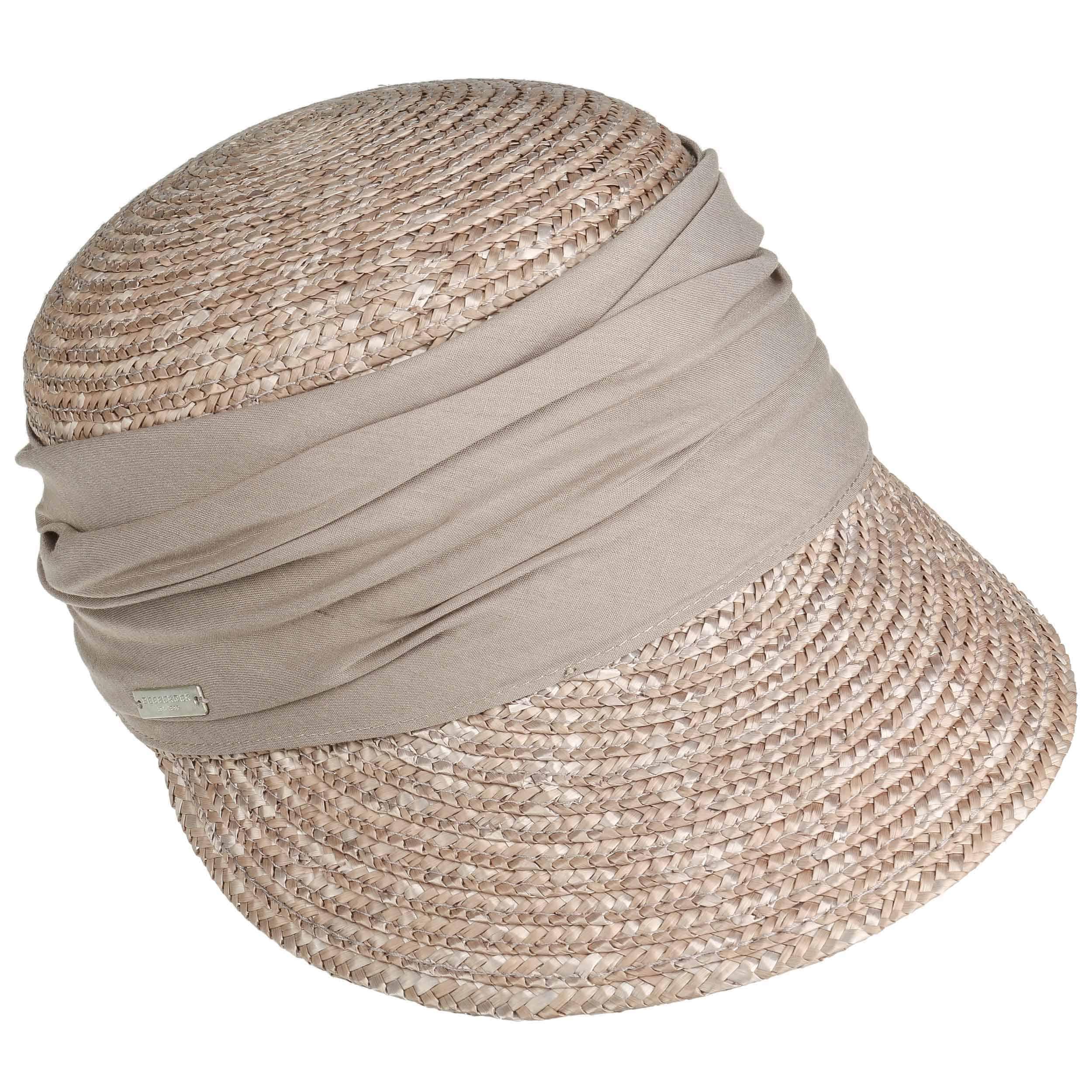 Seeberger Grace Straw Cap Women Caps Visors womens cap straw