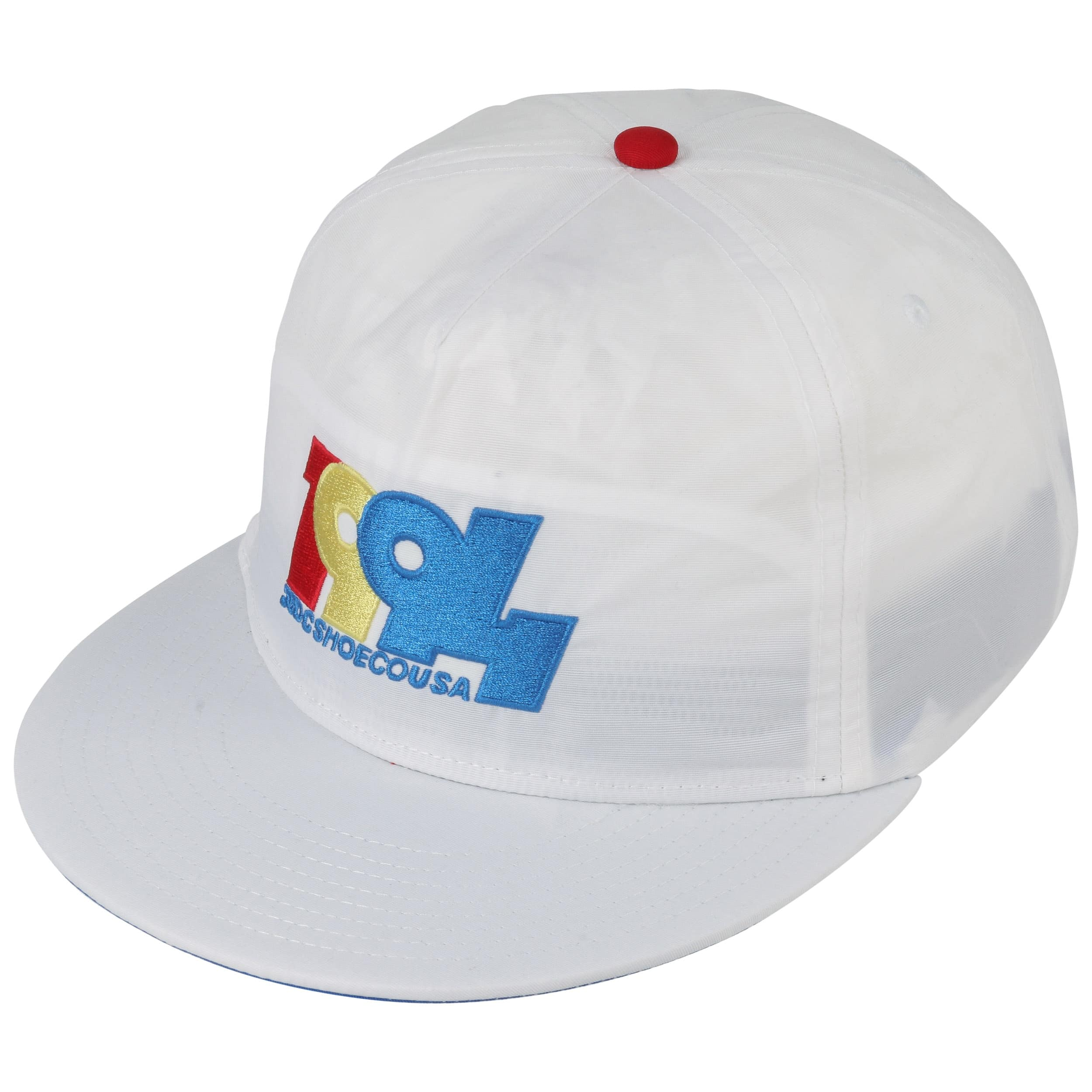 77cf8a1a8c7 ... Graduate Snapback Cap by DC Shoes Co - white 1 ...