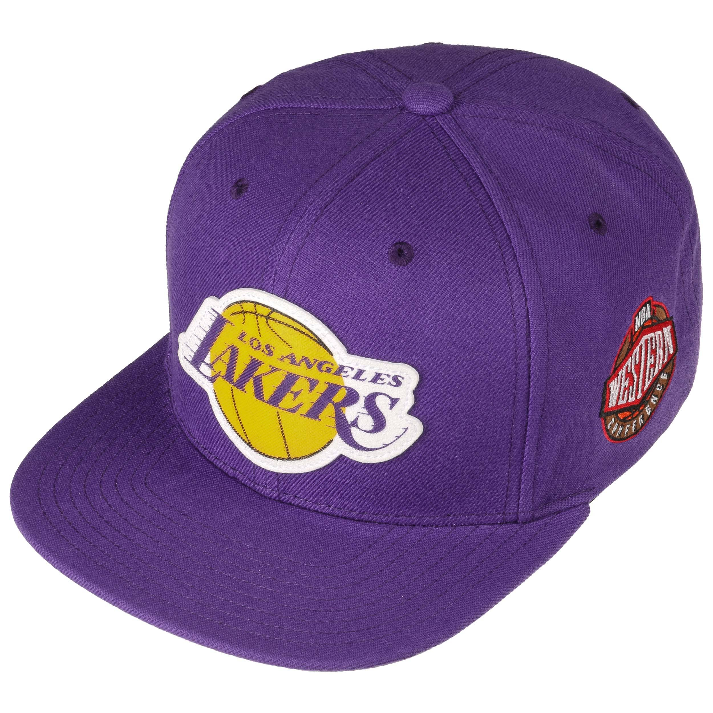 b8580cd48e Grass Current Lakers Cap by Mitchell   Ness - purple 1 ...
