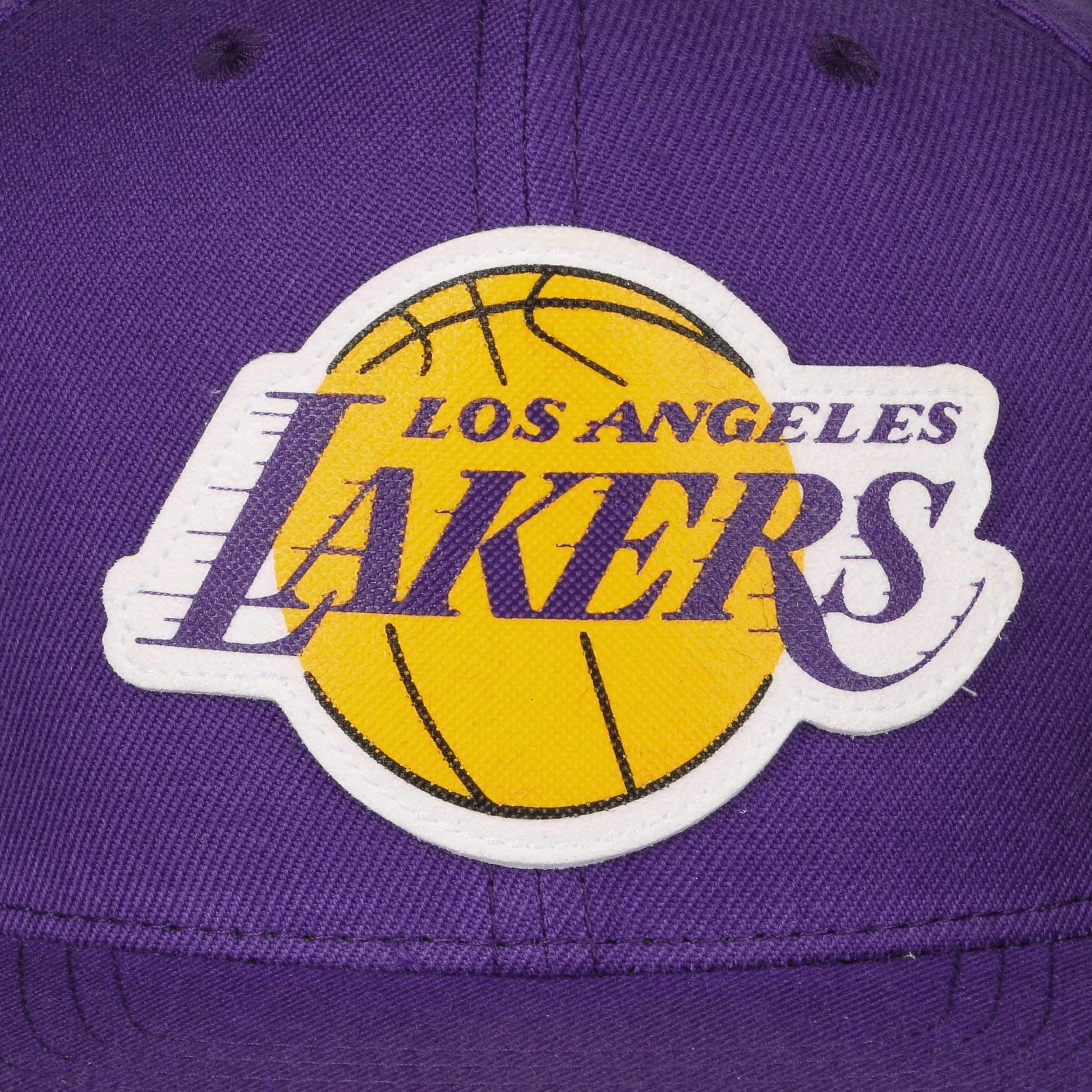 ... Grass Current Lakers Cap by Mitchell   Ness - purple 4 ... df9c22495a4
