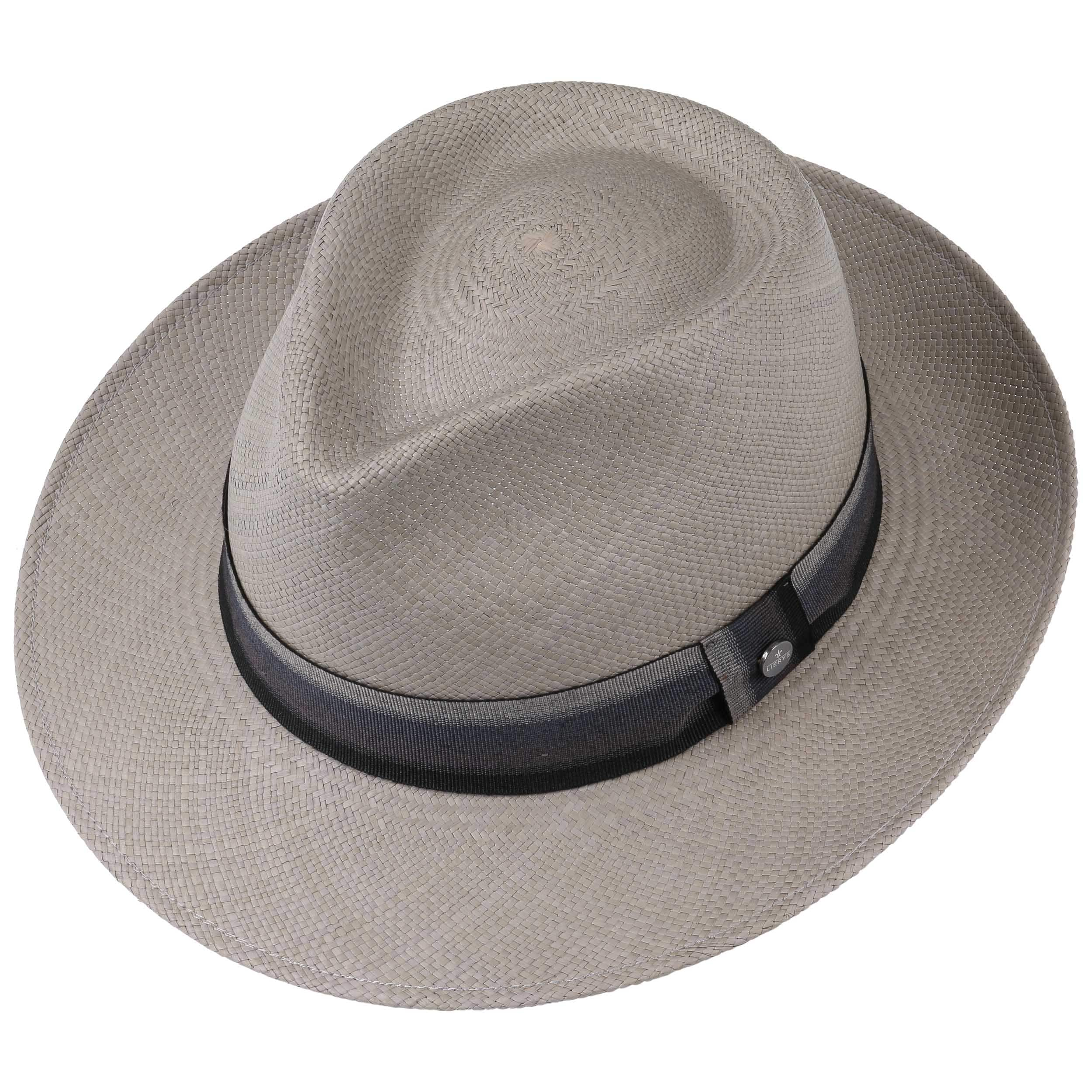 4db63d61e20 Grey Paradise Bogart Panama Hat by Lierys - grey 1 ...