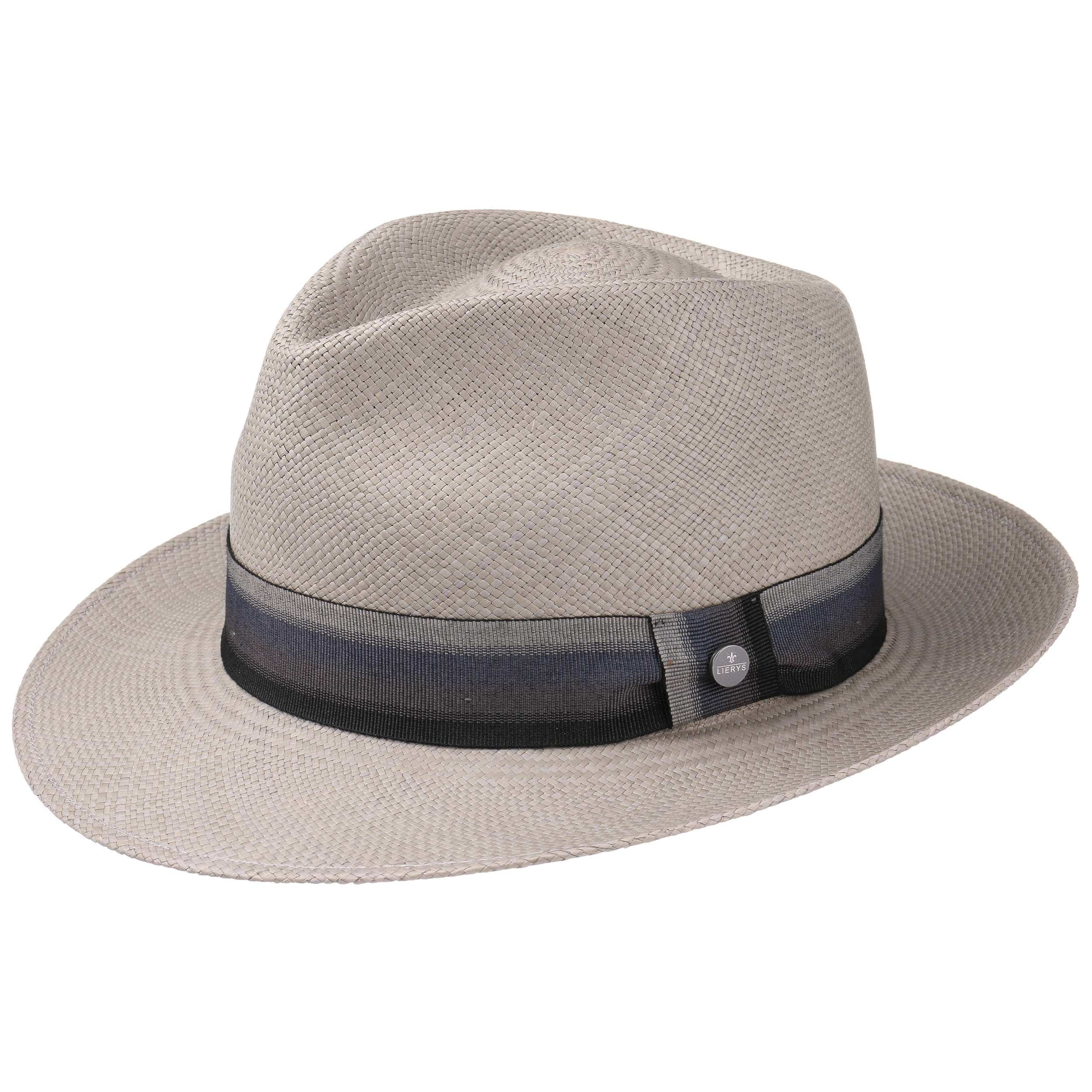 38838e4a911 ... Grey Paradise Bogart Panama Hat by Lierys - grey 4 ...