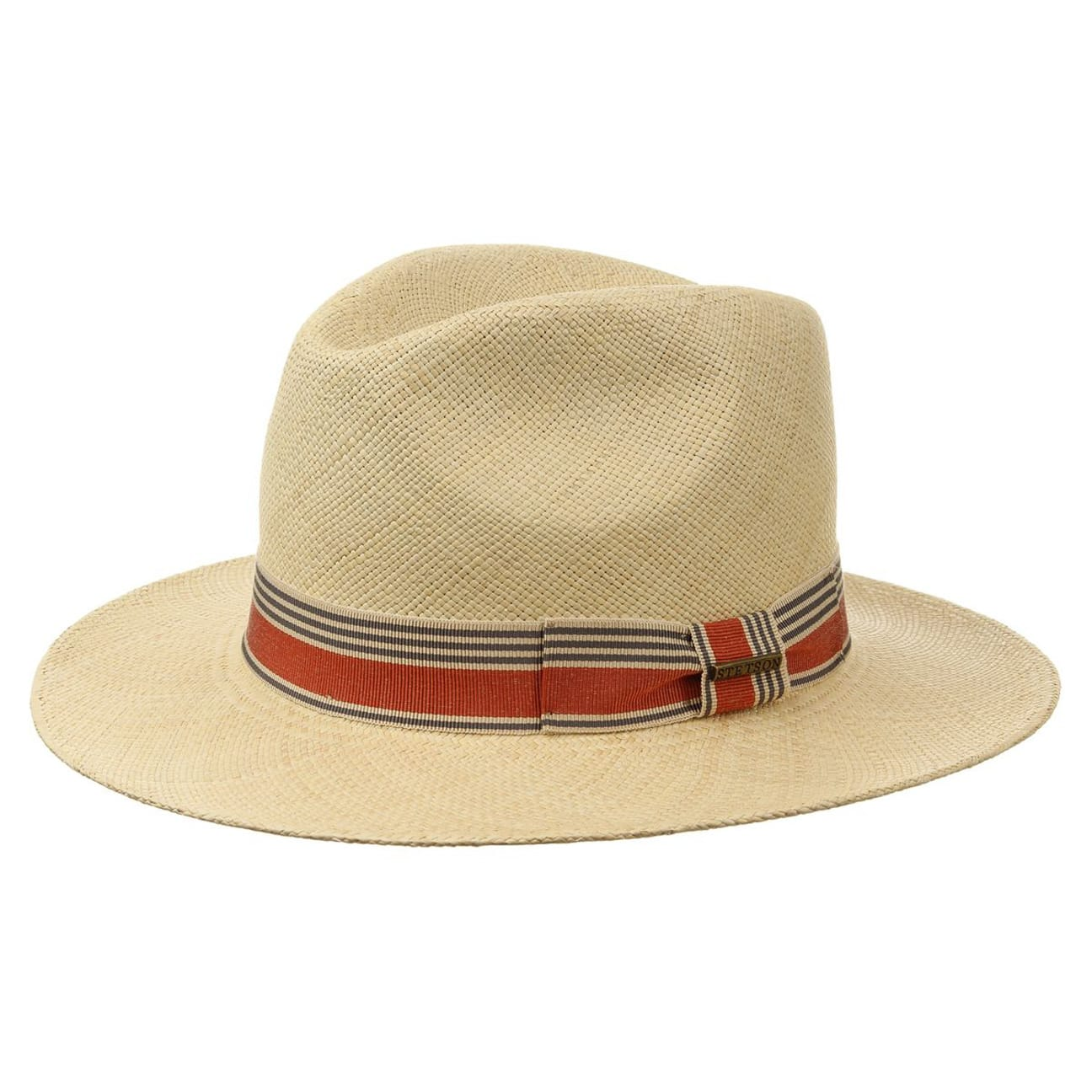 c49cf14a02c Groton Panama Straw Hat by Stetson - nature 1