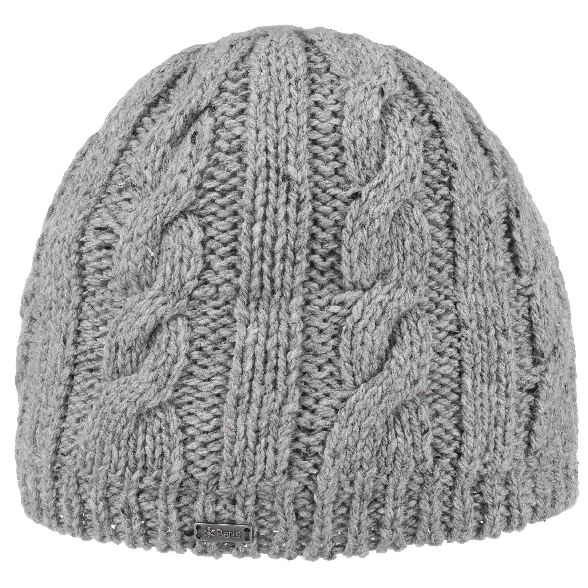 ... Gus Men´s Cable Knit Hat by Barts - grey 4 ... 719126f56ad