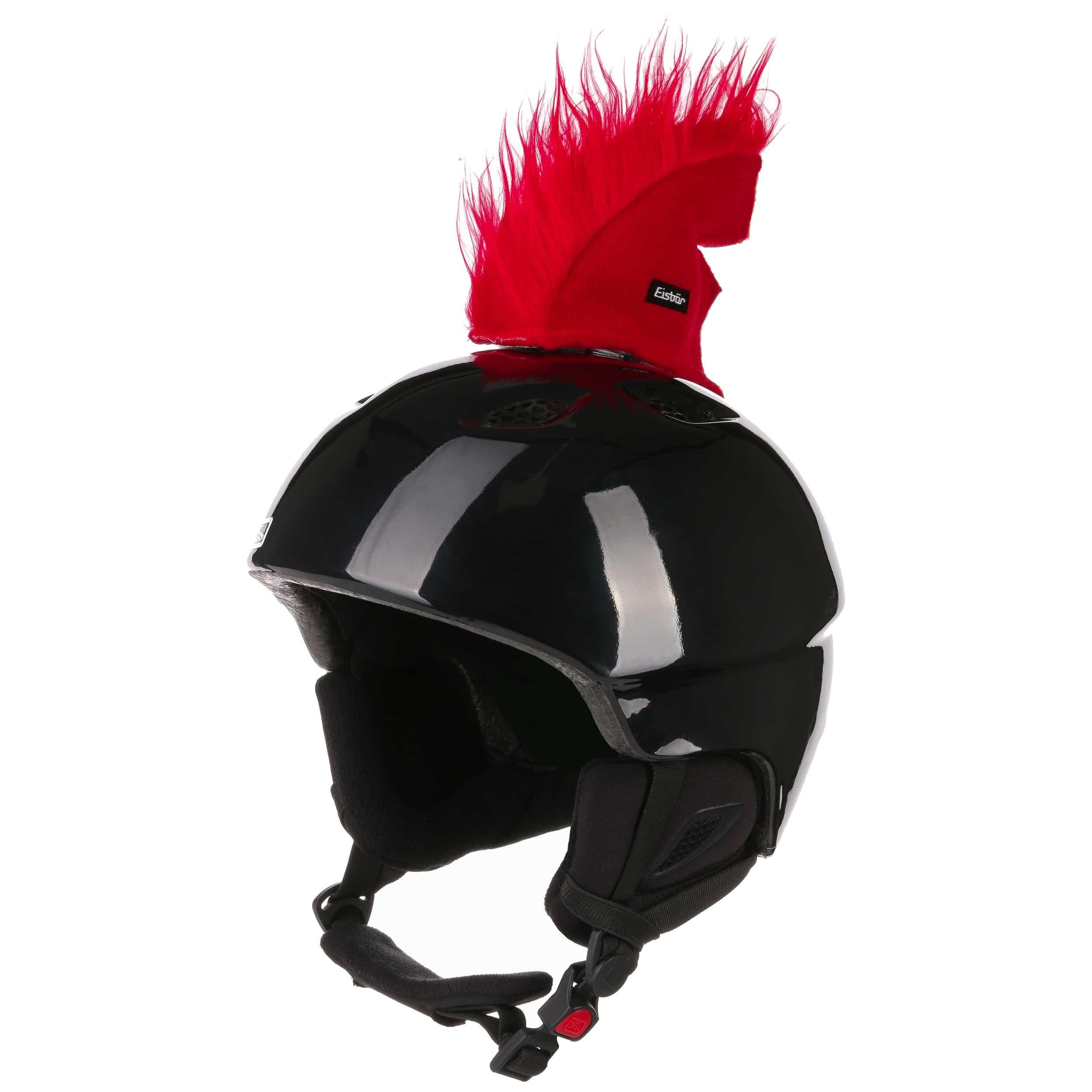Hairy shark helmet sticker by eisbär red 5