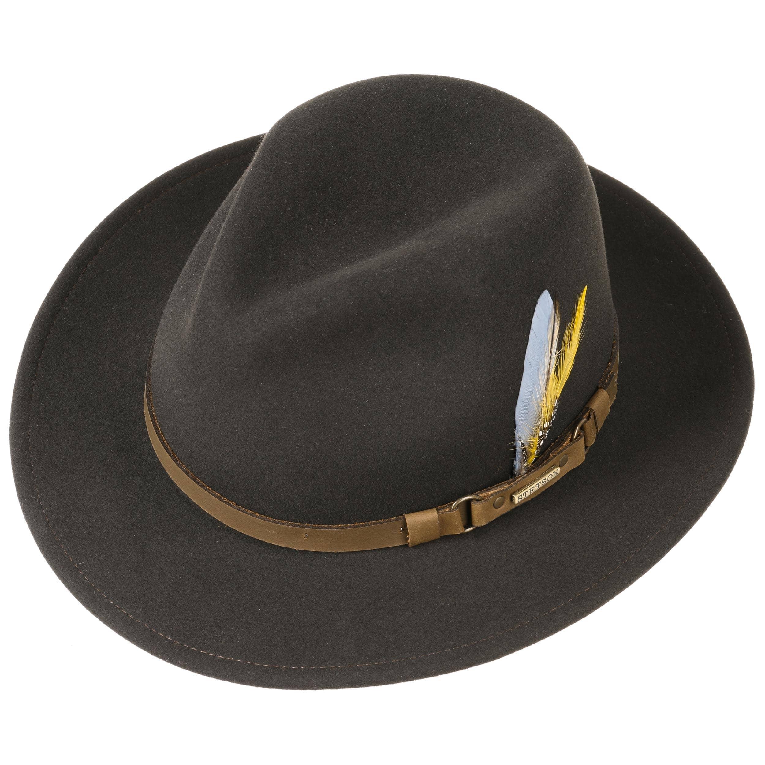 ... Hamlin VitaFelt Traveller Hat by Stetson - brown 1 ... d0eebe7c77d