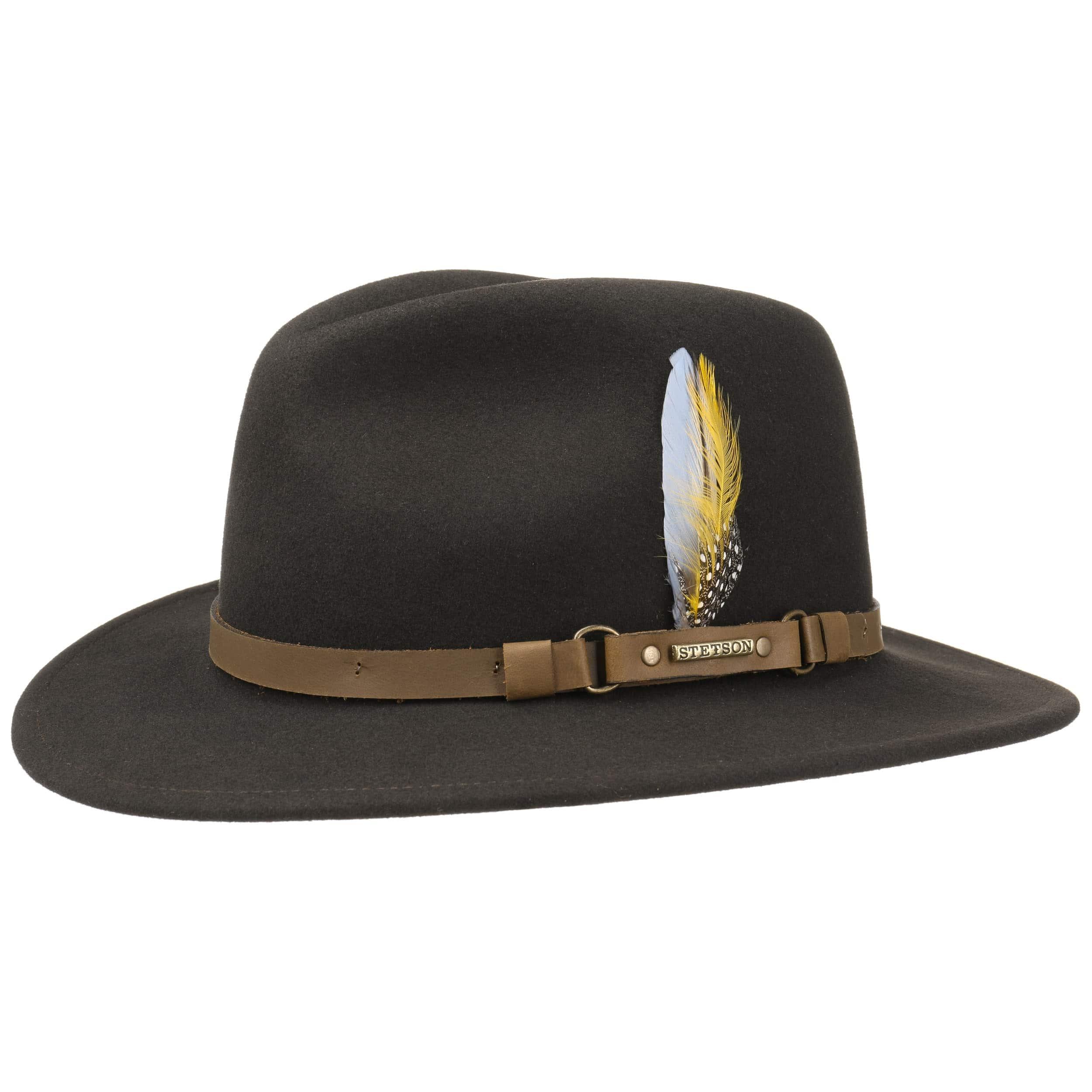 ... Hamlin VitaFelt Traveller Hat by Stetson - brown 5 ... 1764bd3e68a