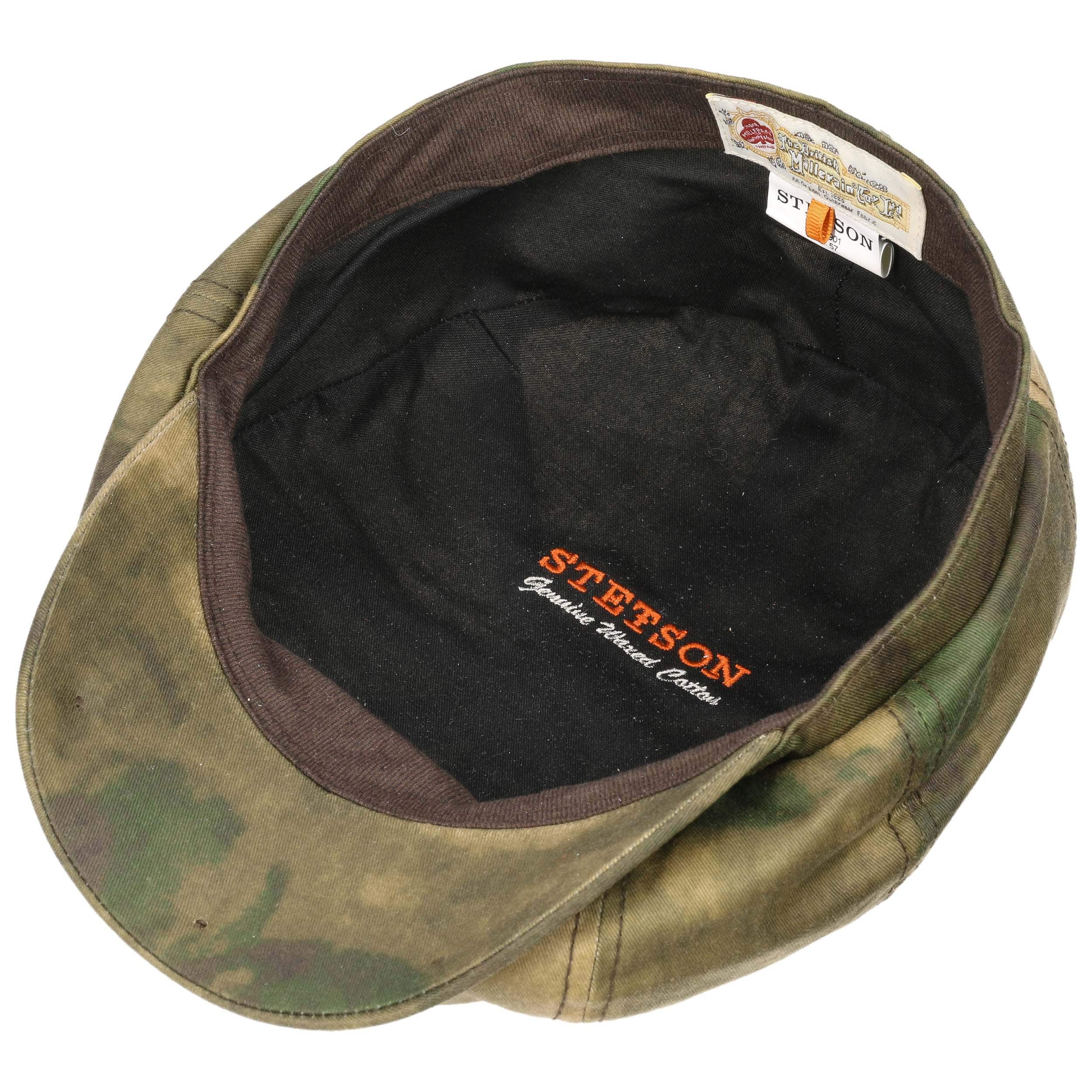 2eda2698915a7 ... Hatteras Camouflage Flat Cap by Stetson - camouflage 2 ...