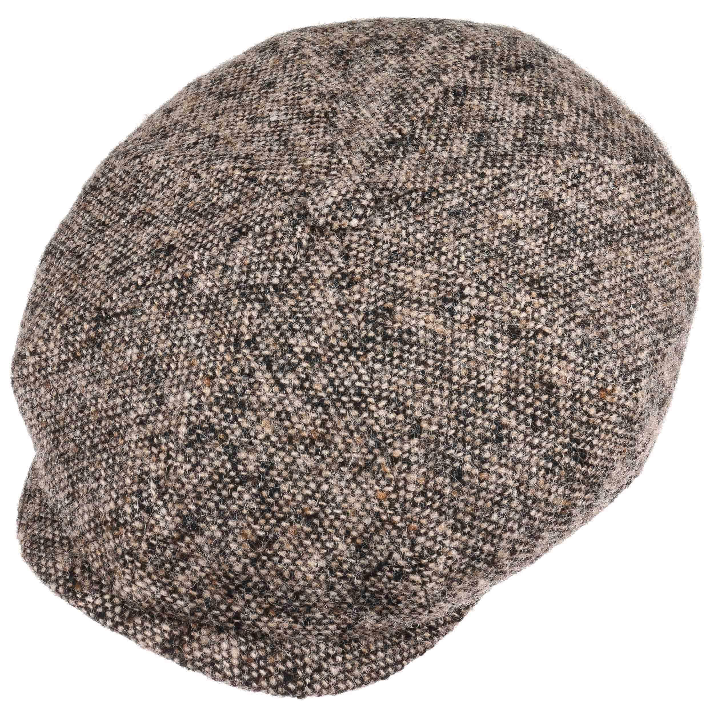 Stetson Hatteras Tweed Cap Baker Boy Wool 54 55 56 cm