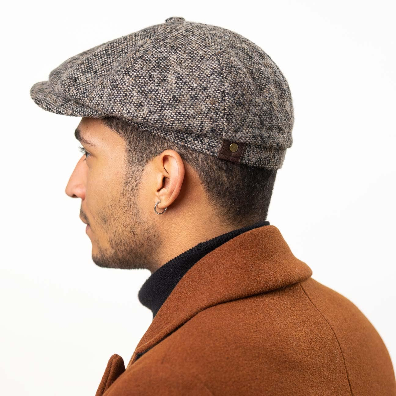 7f590ddeed7 Hatteras Donegal Tweed Cap by Stetson 1 ...