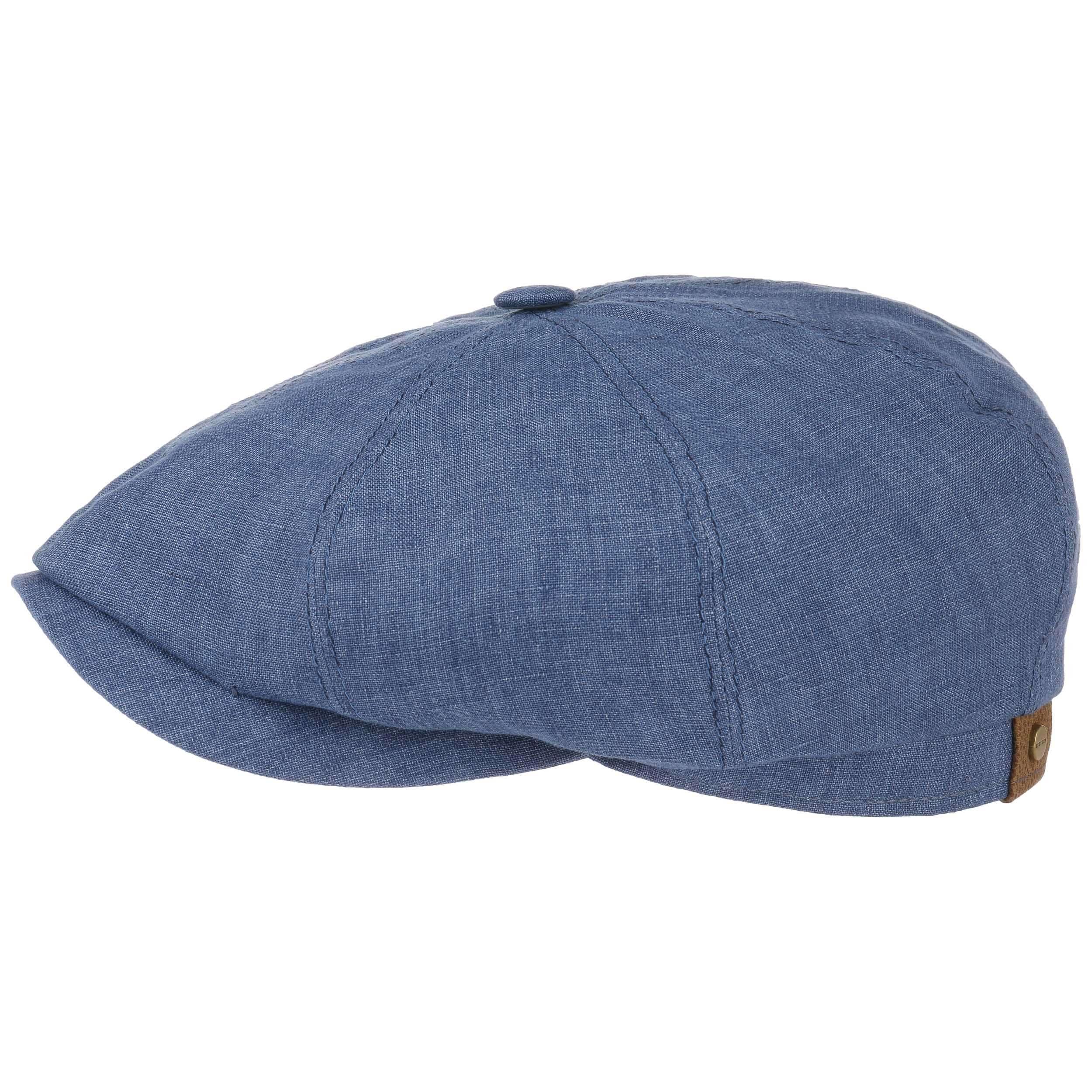 dbdcea05005 ... Hatteras Linen Newsboy Cap by Stetson - blue 4 ...