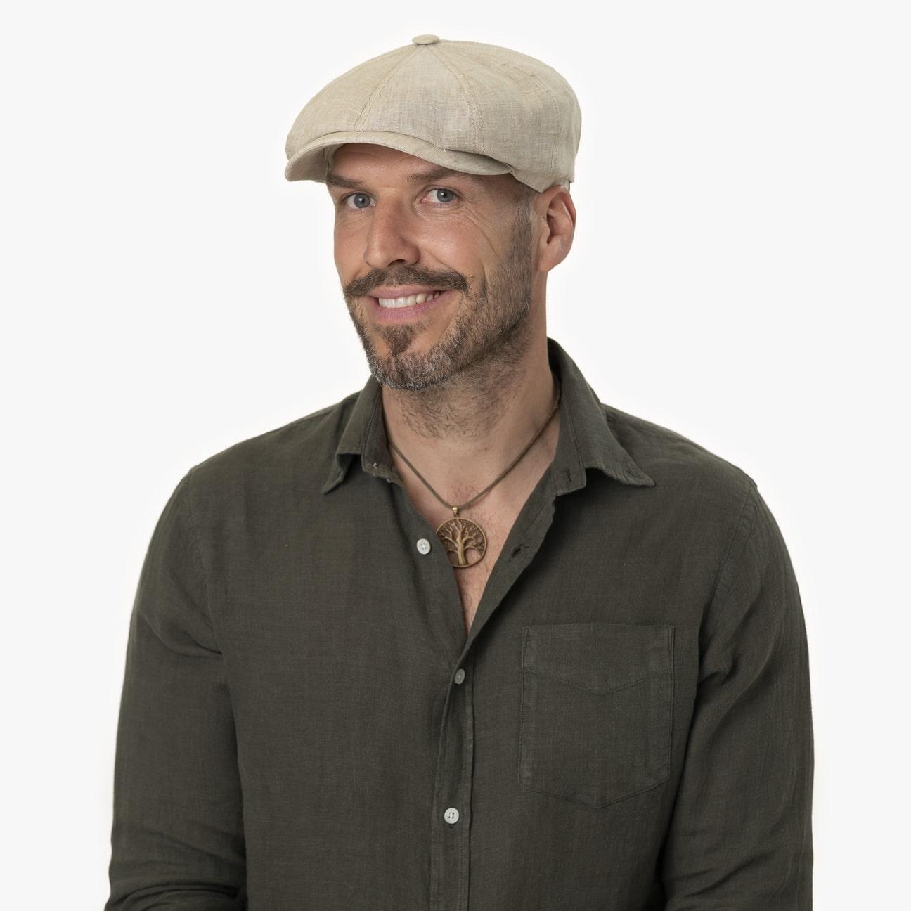 ... Hatteras Linen Newsboy Cap by Stetson 1 ... 6937adec80b