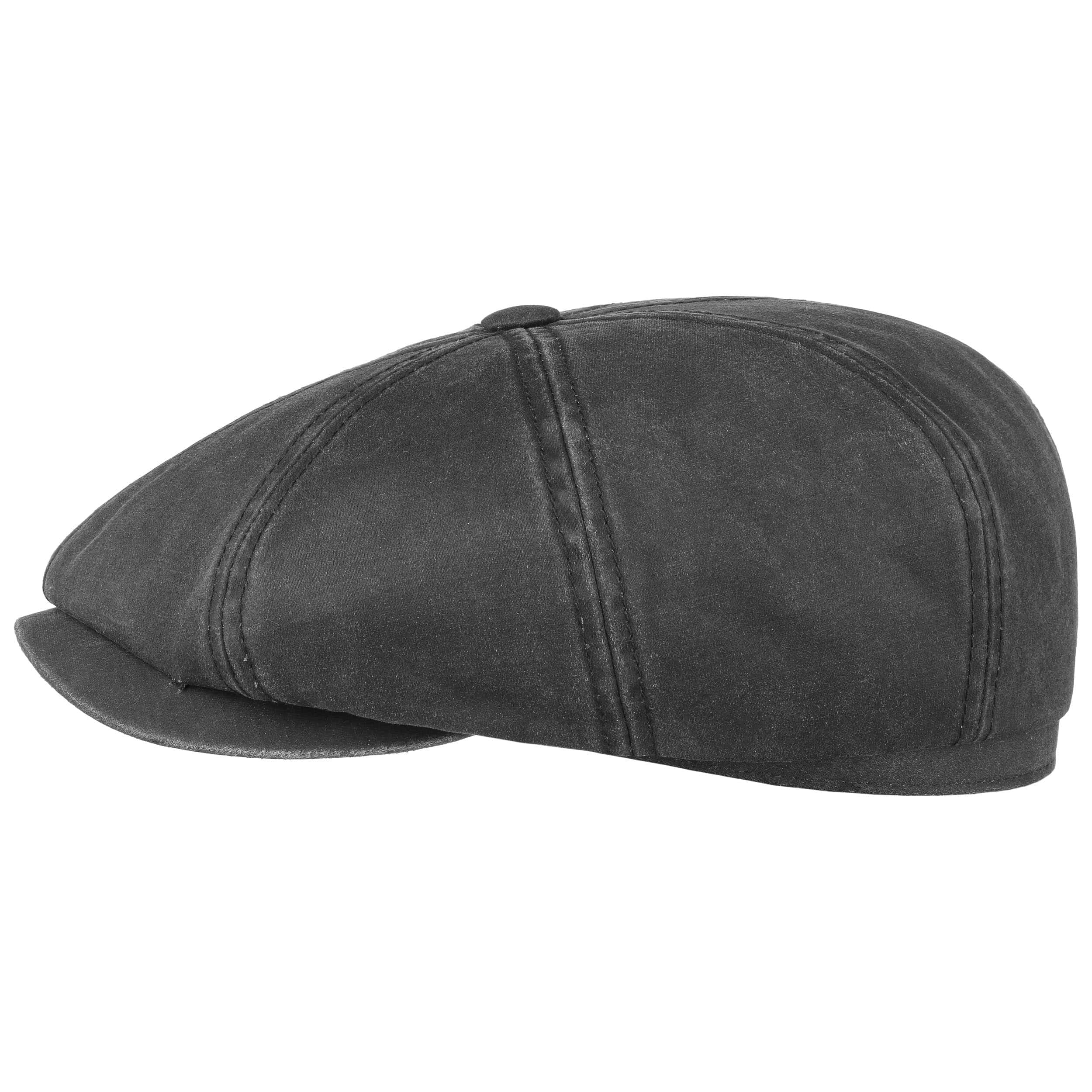 10f210043cb ... Hatteras Old Cotton Ear Flap Cap by Stetson - black 1 ...