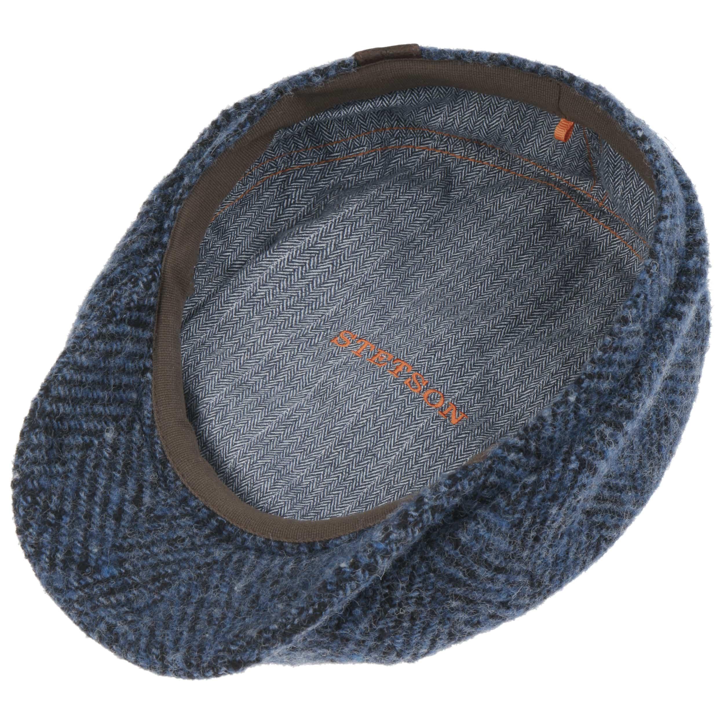 STETSON HATTERAS DONEGAL Flatcap Cap Mütze Schiebermütze Wintermütze Hut 433 NEU