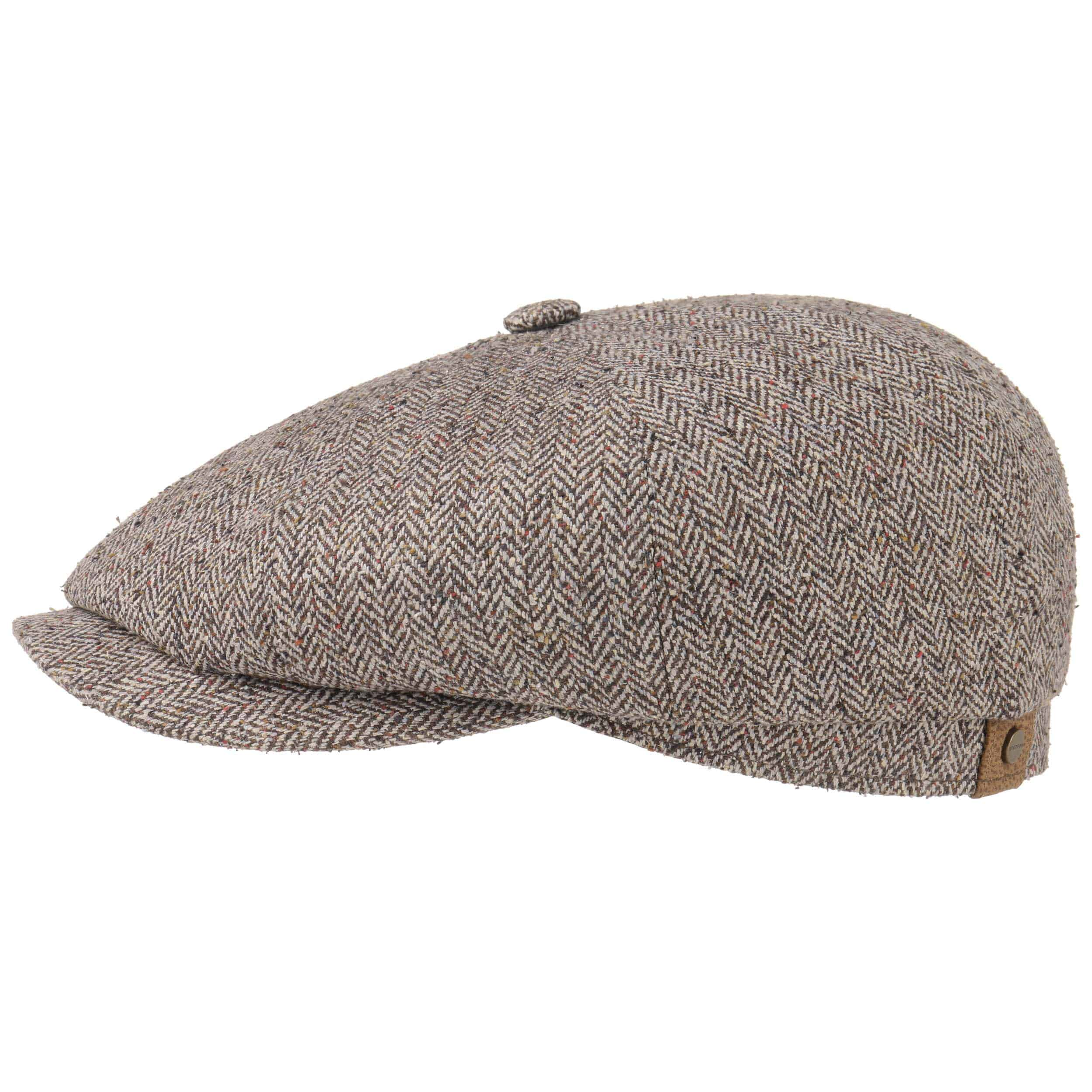 new images of newest collection uk store Hatteras Silk Flat Cap by Stetson