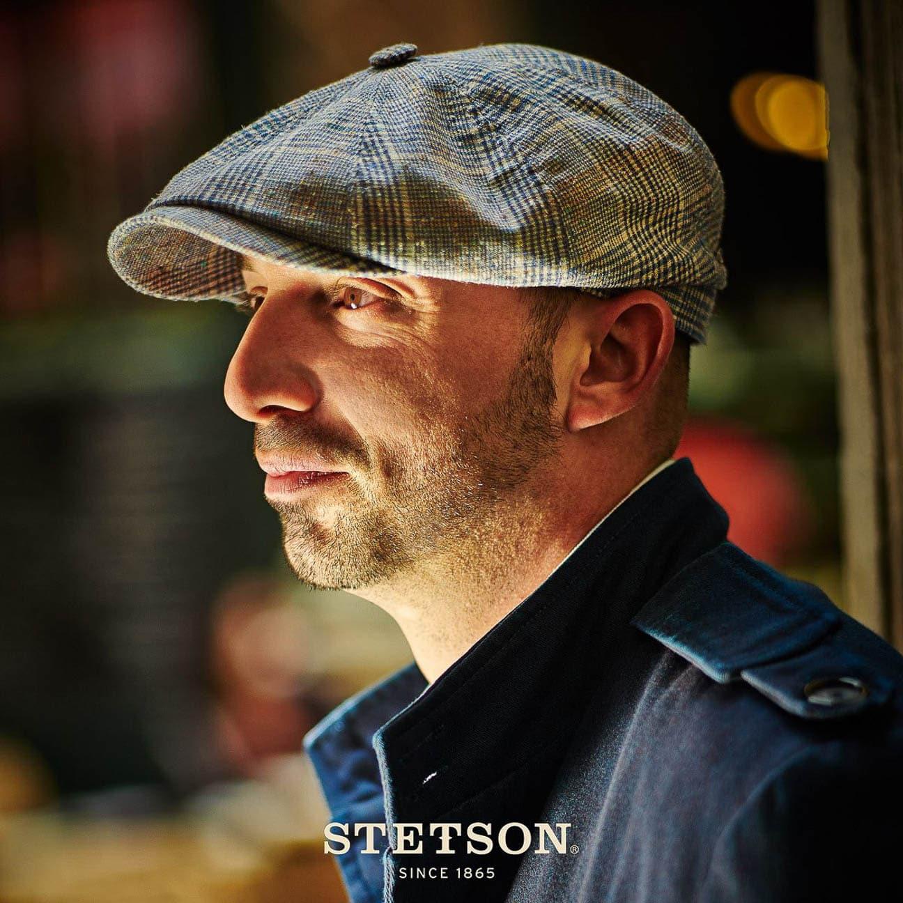... Hatteras Tropic Silk Flat Cap by Stetson 1 ... 23a7c137610