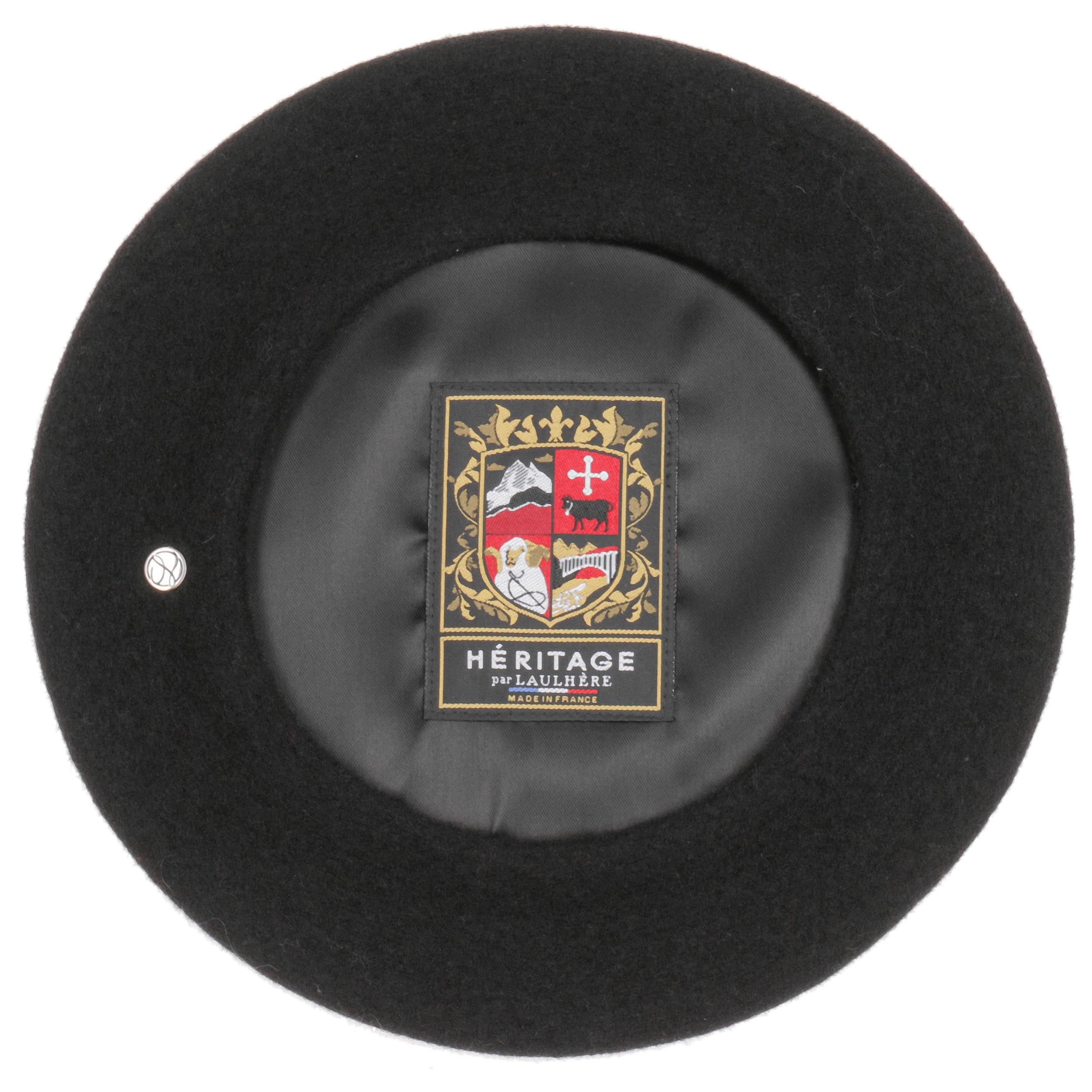 ... Hearts Beret by Héritage par Laulhère - black 2 ... 611c528dfc9