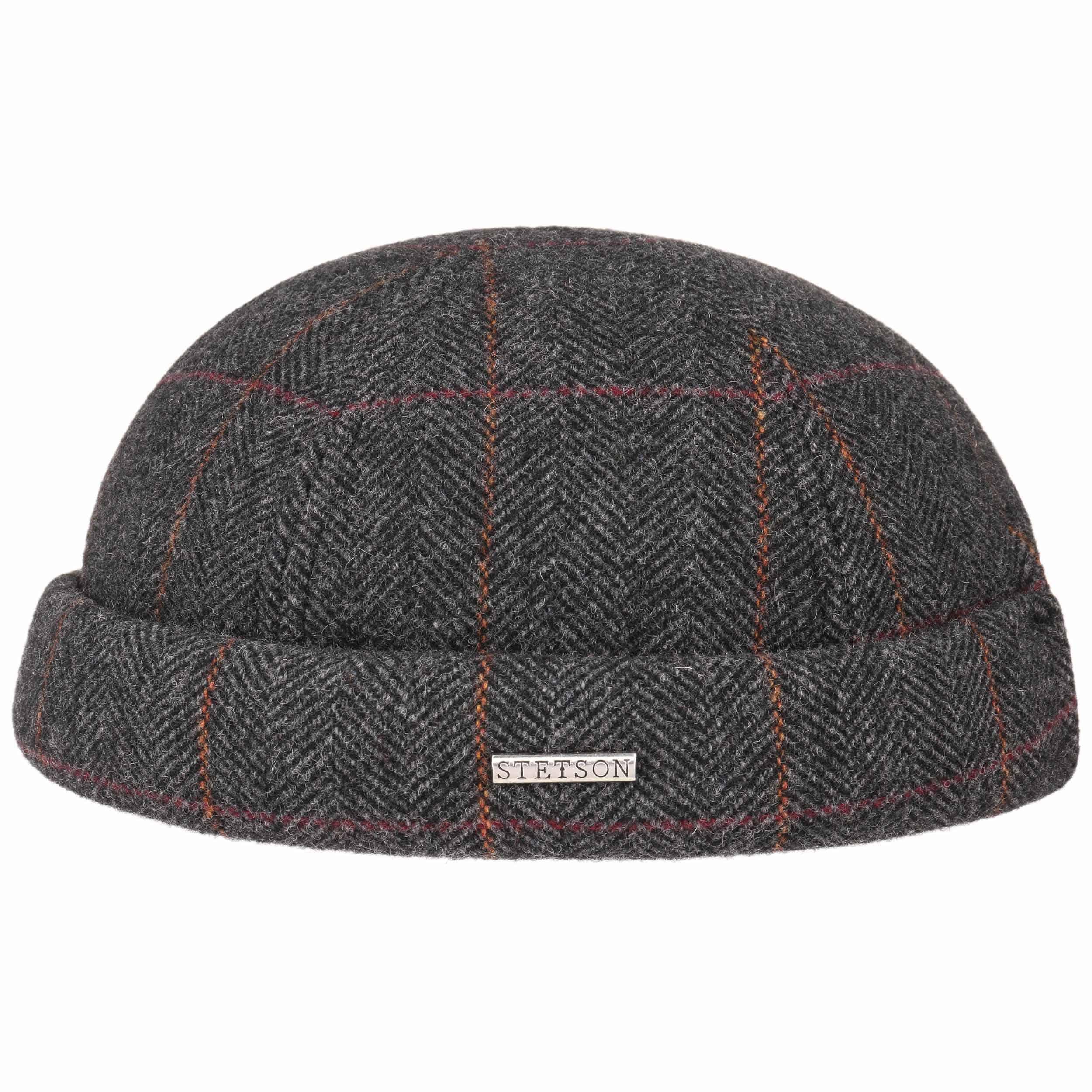 3fac646b95e Herringbone Wool Docker Hat by Stetson
