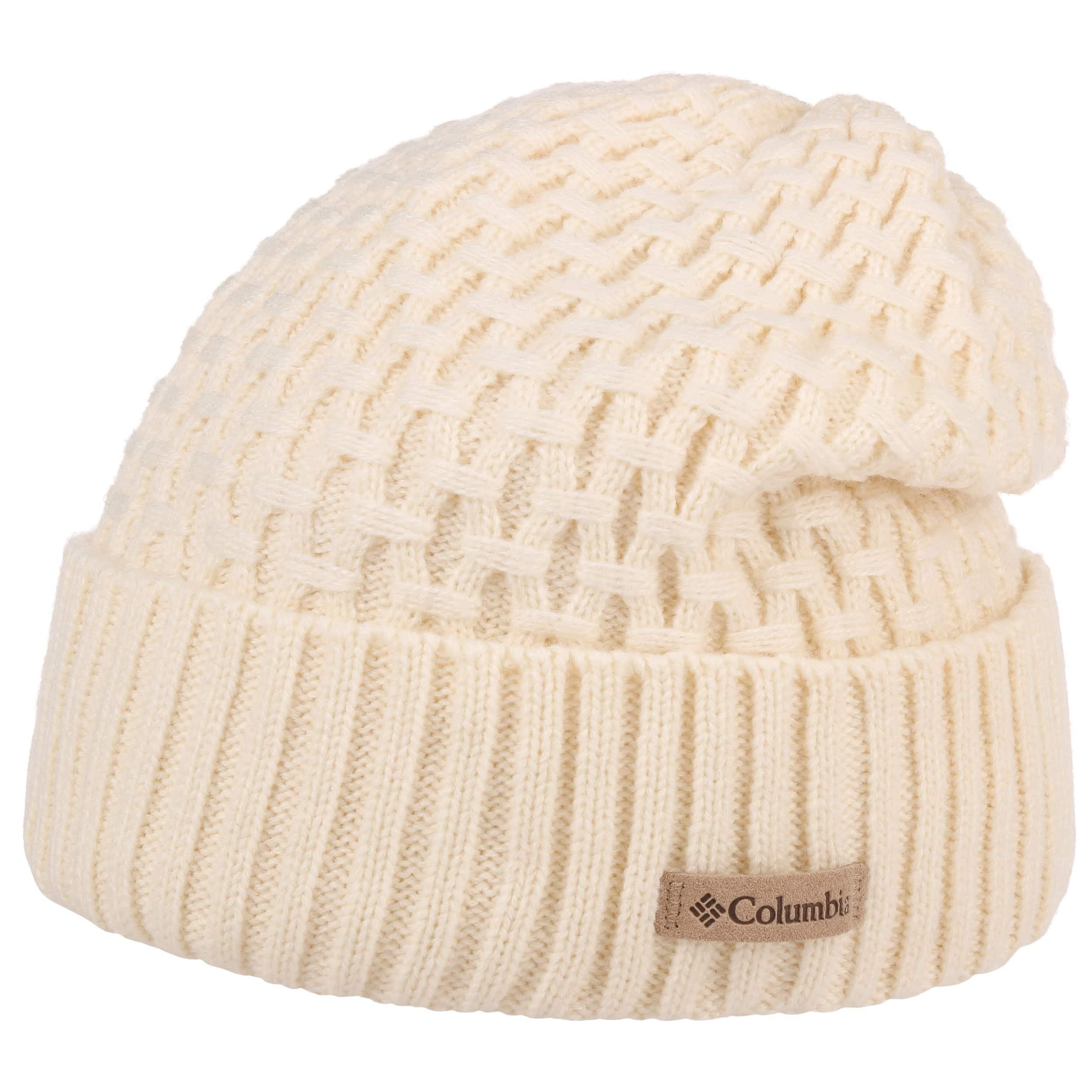 e6386f46ea5cbb ... Hideaway Haven Beanie Hat by Columbia - cream white 4