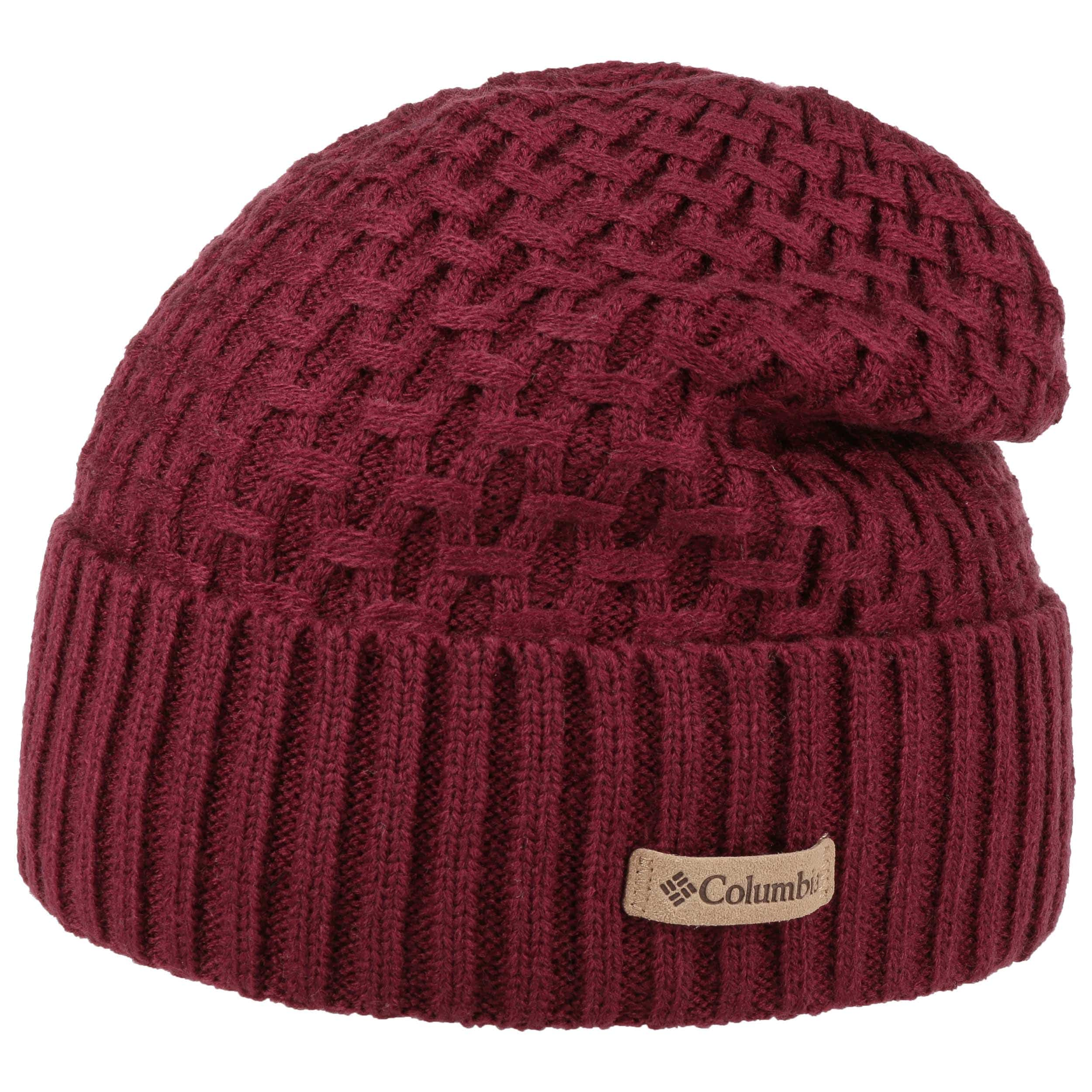 3dfc224ecb2 Hideaway Haven™ Cabled Beanie by Columbia - bordeaux Marsala 1 ...