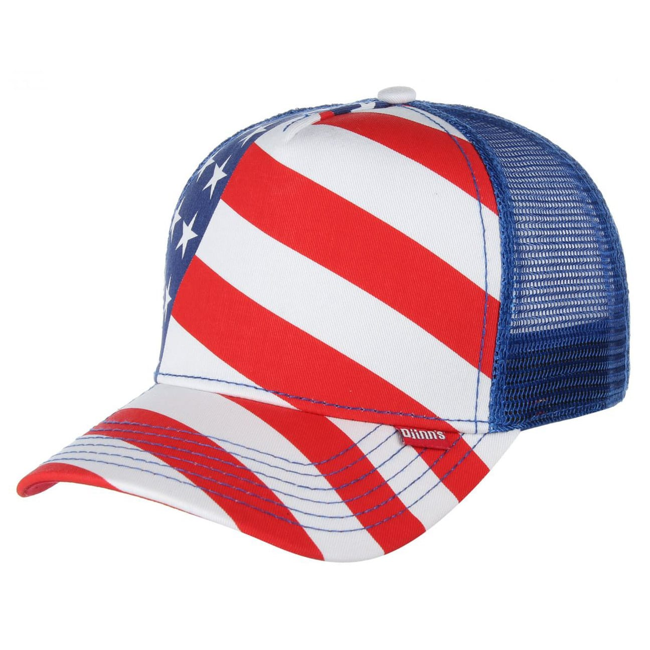 high fitted flag trucker cap by djinns eur 19 99 hats. Black Bedroom Furniture Sets. Home Design Ideas