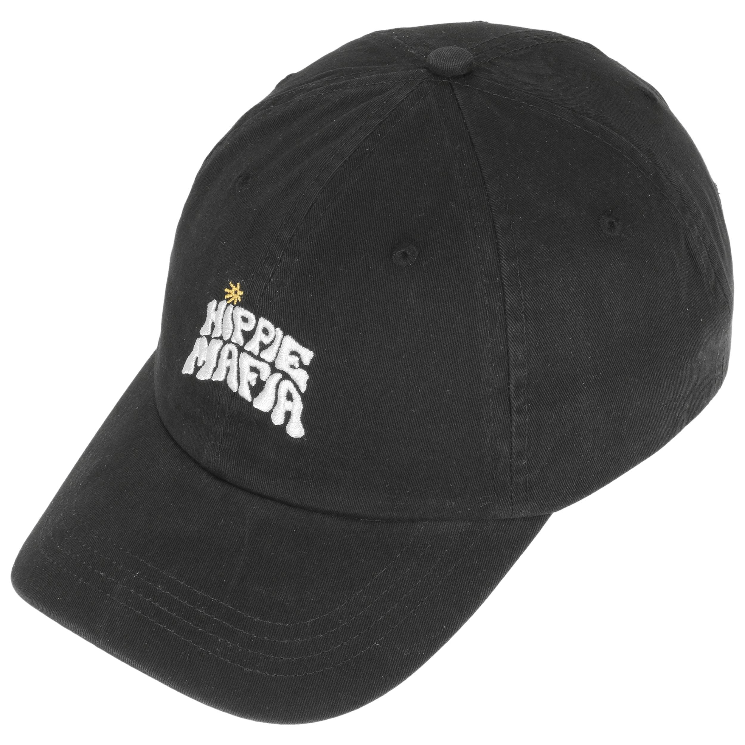 Hippie Mafia Snapback Cap by Quiksilver - black 1 ... 7b0ea5f299d