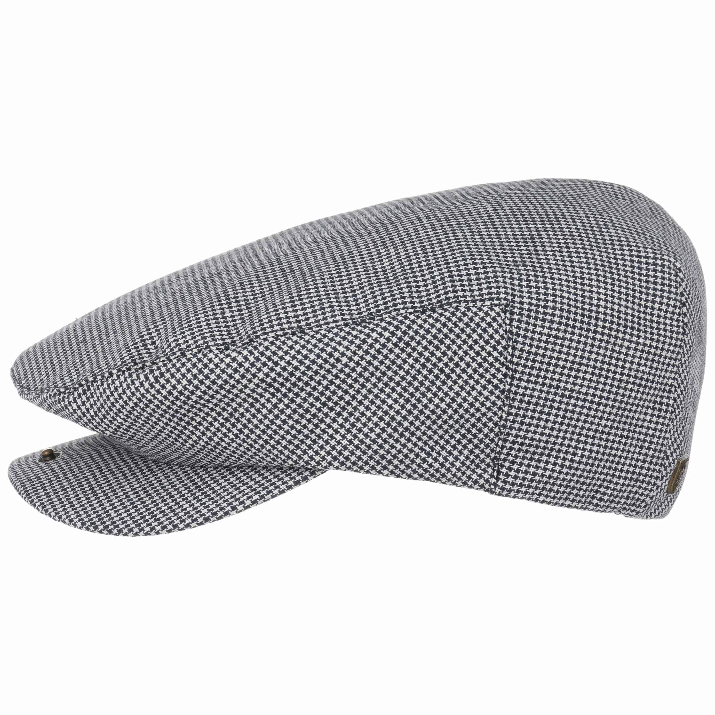 ... Hooligan Uni Flat Cap by Brixton - white 6 ... 2934ae16e2a0