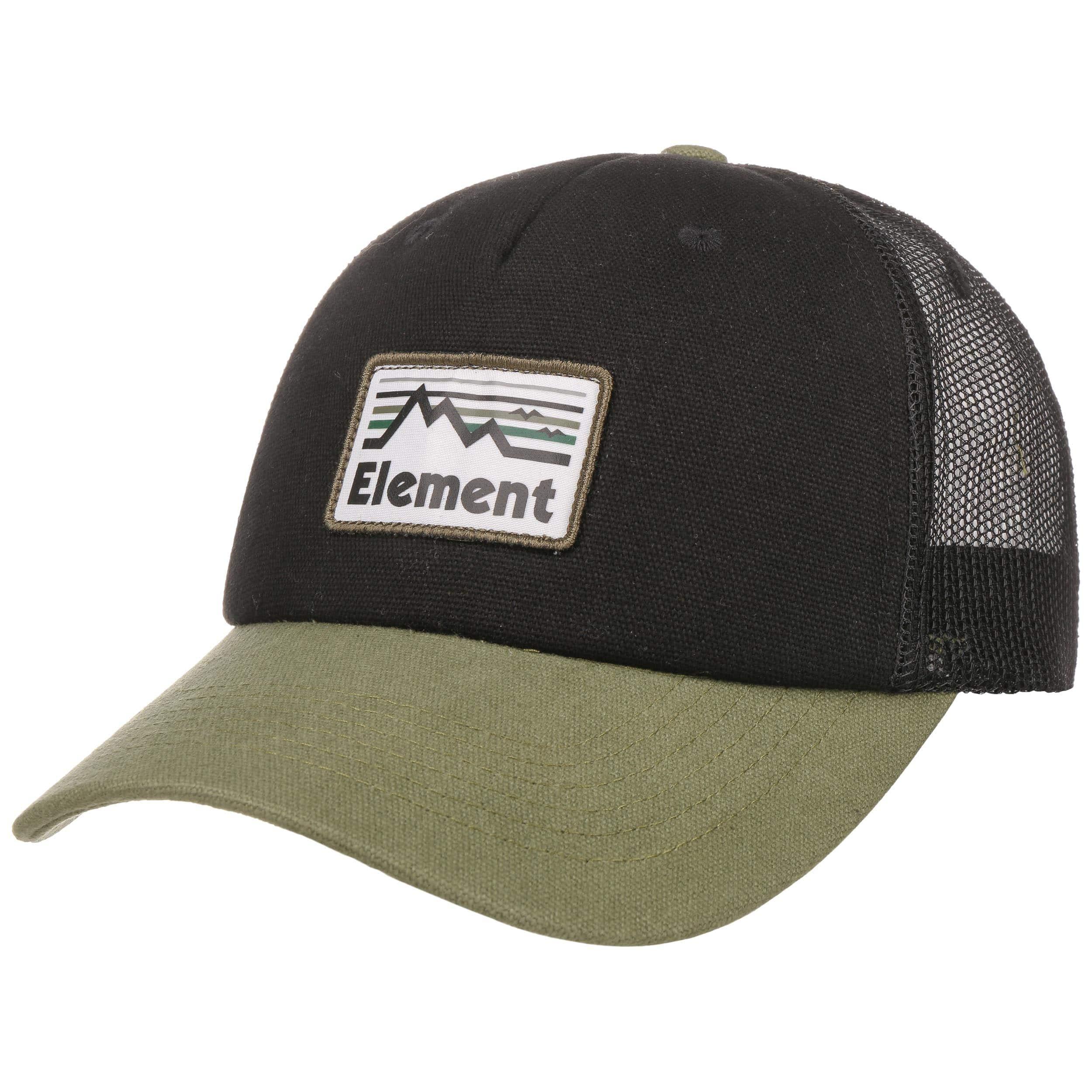 ... Icon Mesh Trucker Cap by element - olive 6 ... 3de5d932368