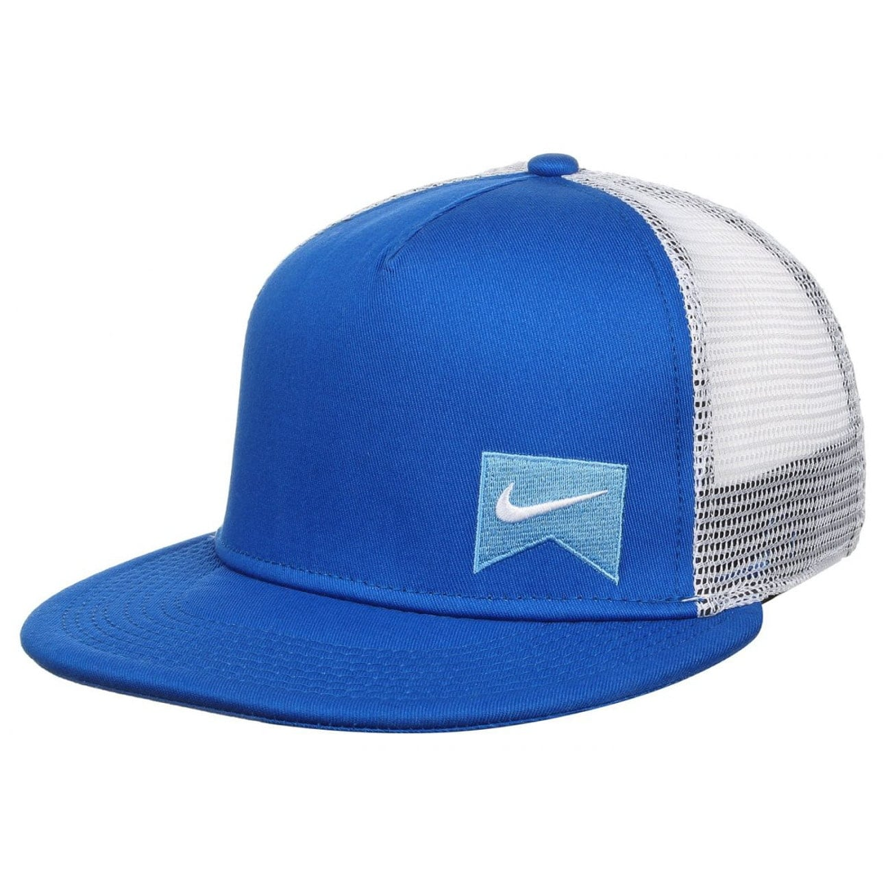 8638ec38810 ... Icon Trucker Snapback Cap by NIKE - royal-blue 1