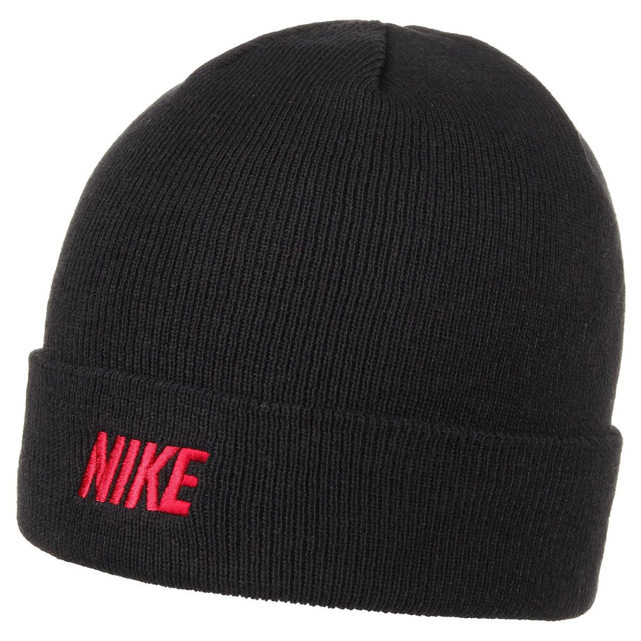 cb6403e3276 ... Iconic Winter Knit Hat by Nike - black 1