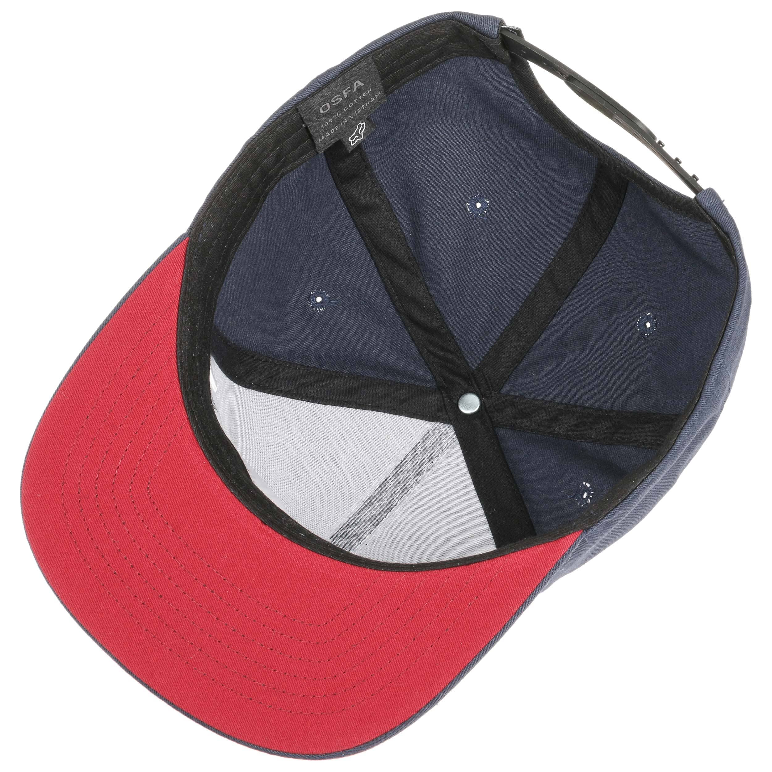 sports shoes ac958 75223 ... Ingratiate Snapback Cap by FOX - red 2 ...