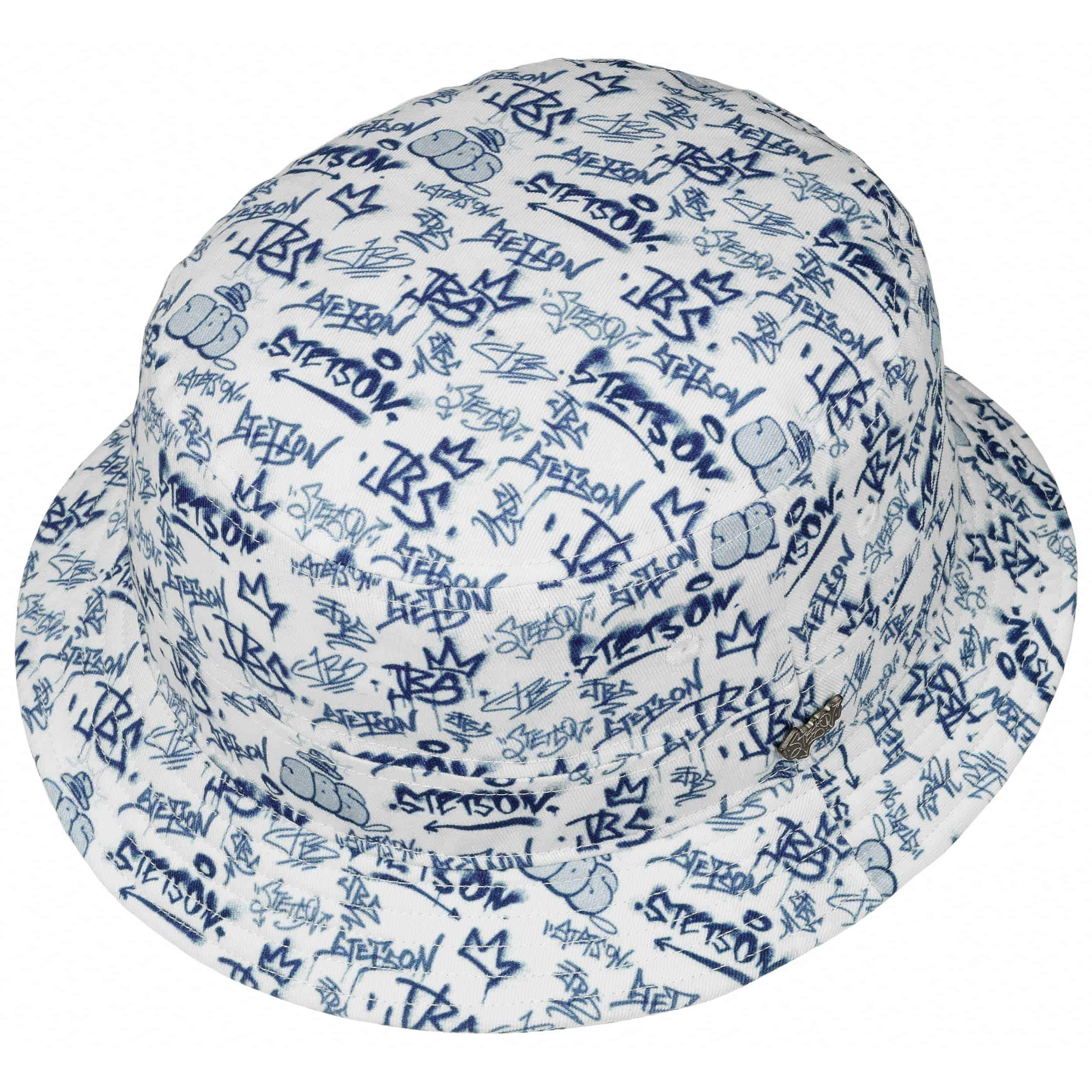 JBS-Graffiti Bucket Hat by Stetson - blue 1 ... 46b913ea8da