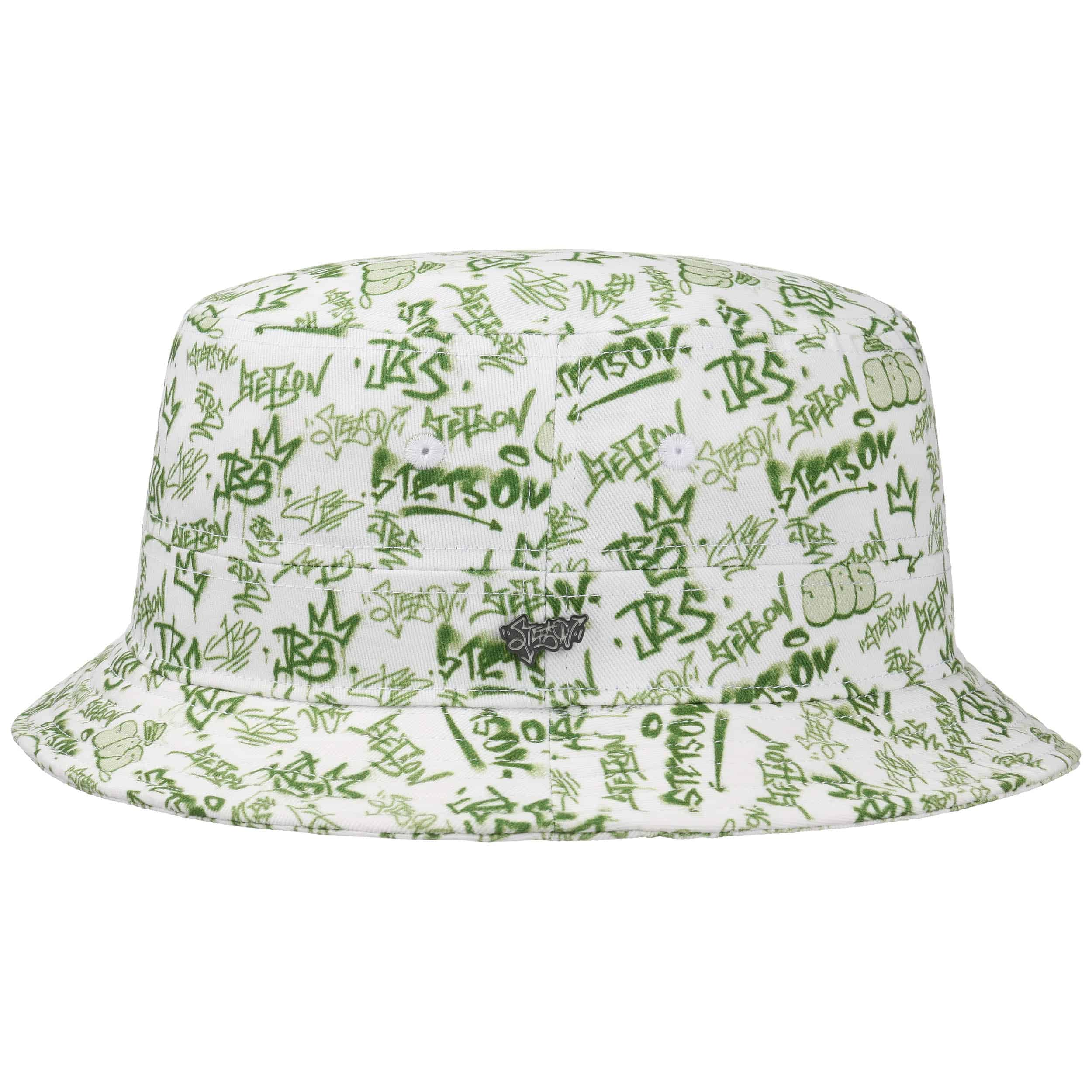 ... JBS-Graffiti Bucket Hat by Stetson - green 4 671506905e6