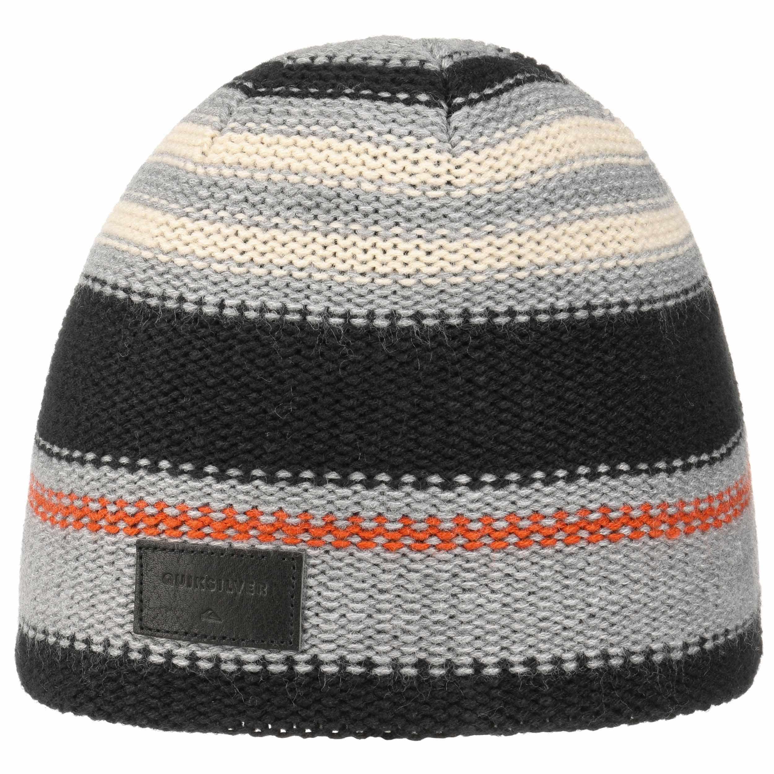 a3bcc6b745a ... Jacquard Stripe Beanie by Quiksilver - black 4