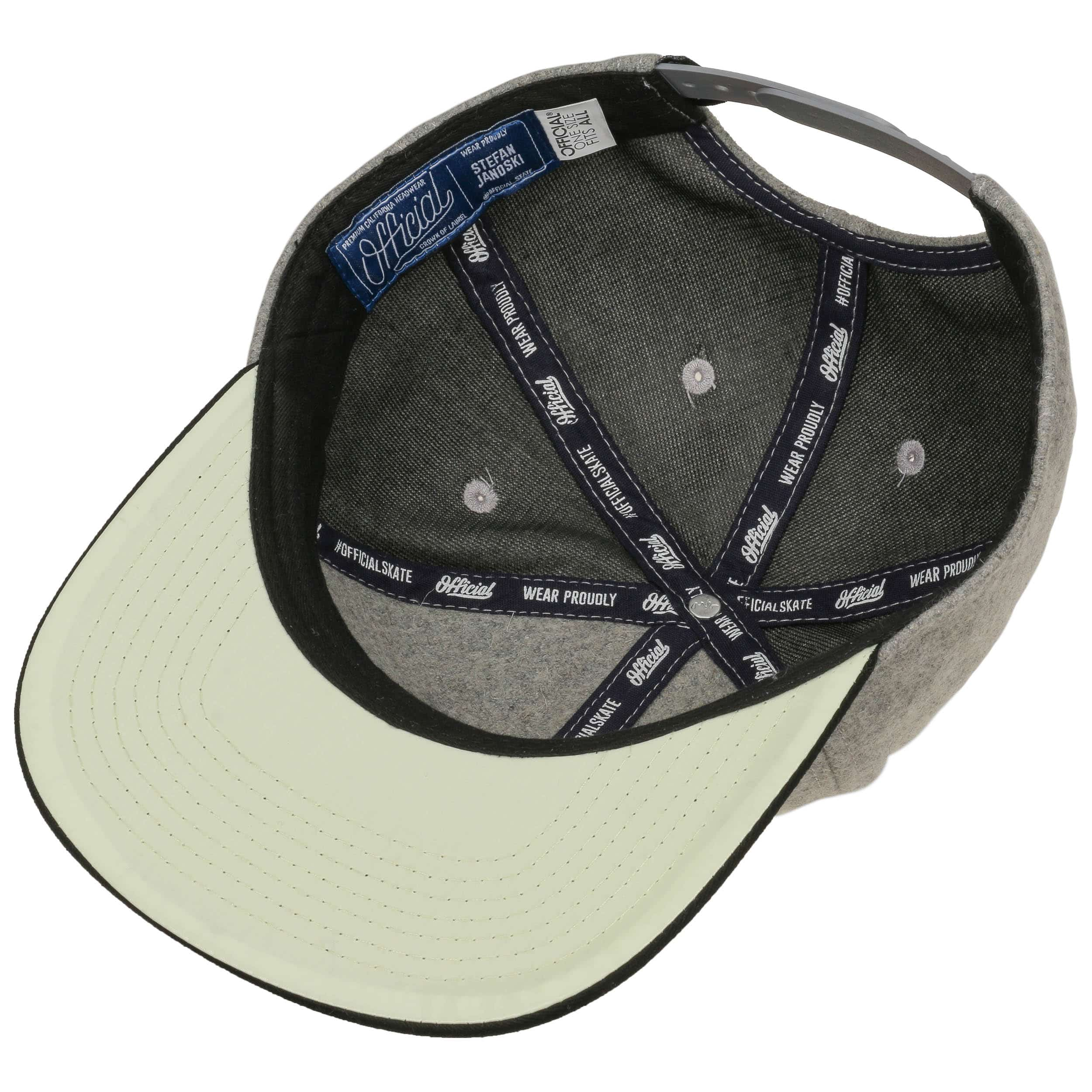 810cf576fce70 ... Janoski Proof Snapback Cap by Official Headwear - grey 2 ...