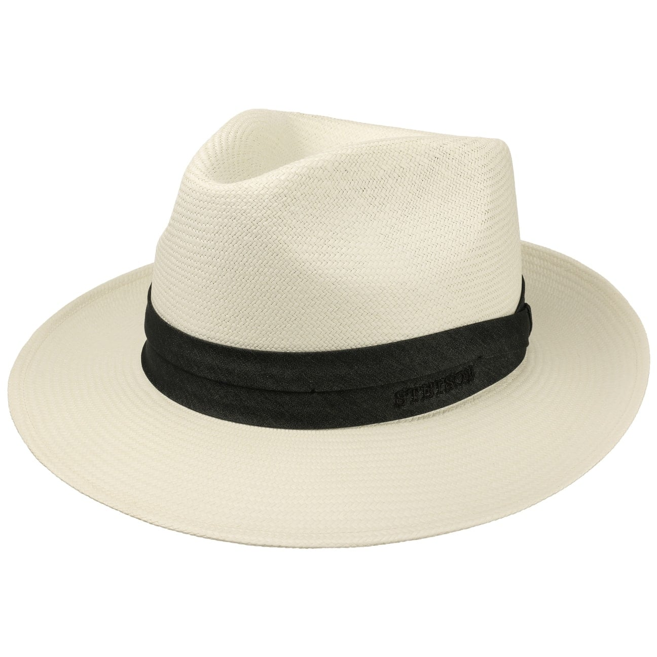 Jenkins Bleached Panama Hat by Stetson - cream white 1 e265613fd78