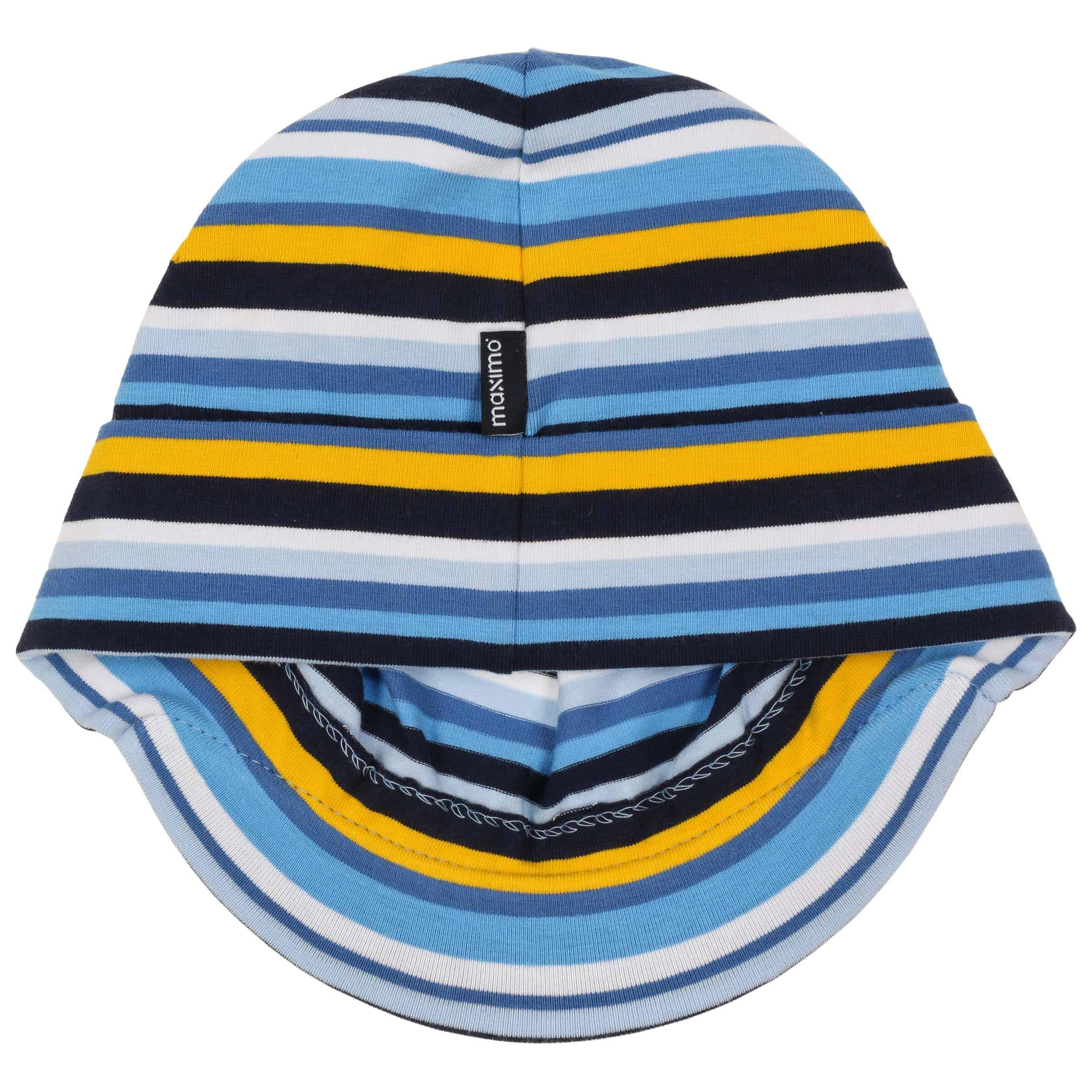 73ad0a60373 ... Jersey Stripes Kids Peak Hat by maximo - blue 2 ...