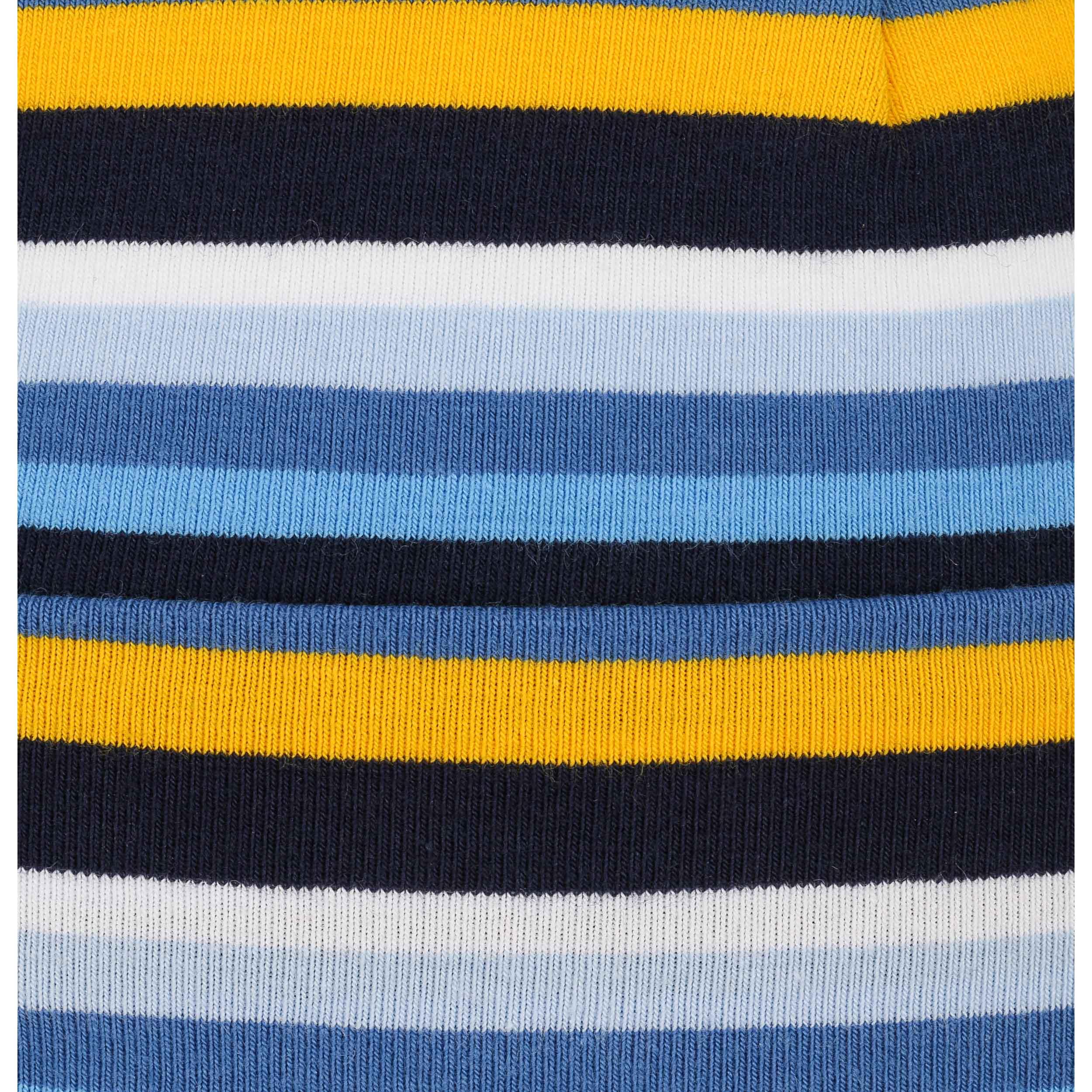 c4c769cb39c ... Jersey Stripes Kids Peak Hat by maximo - blue 3 ...