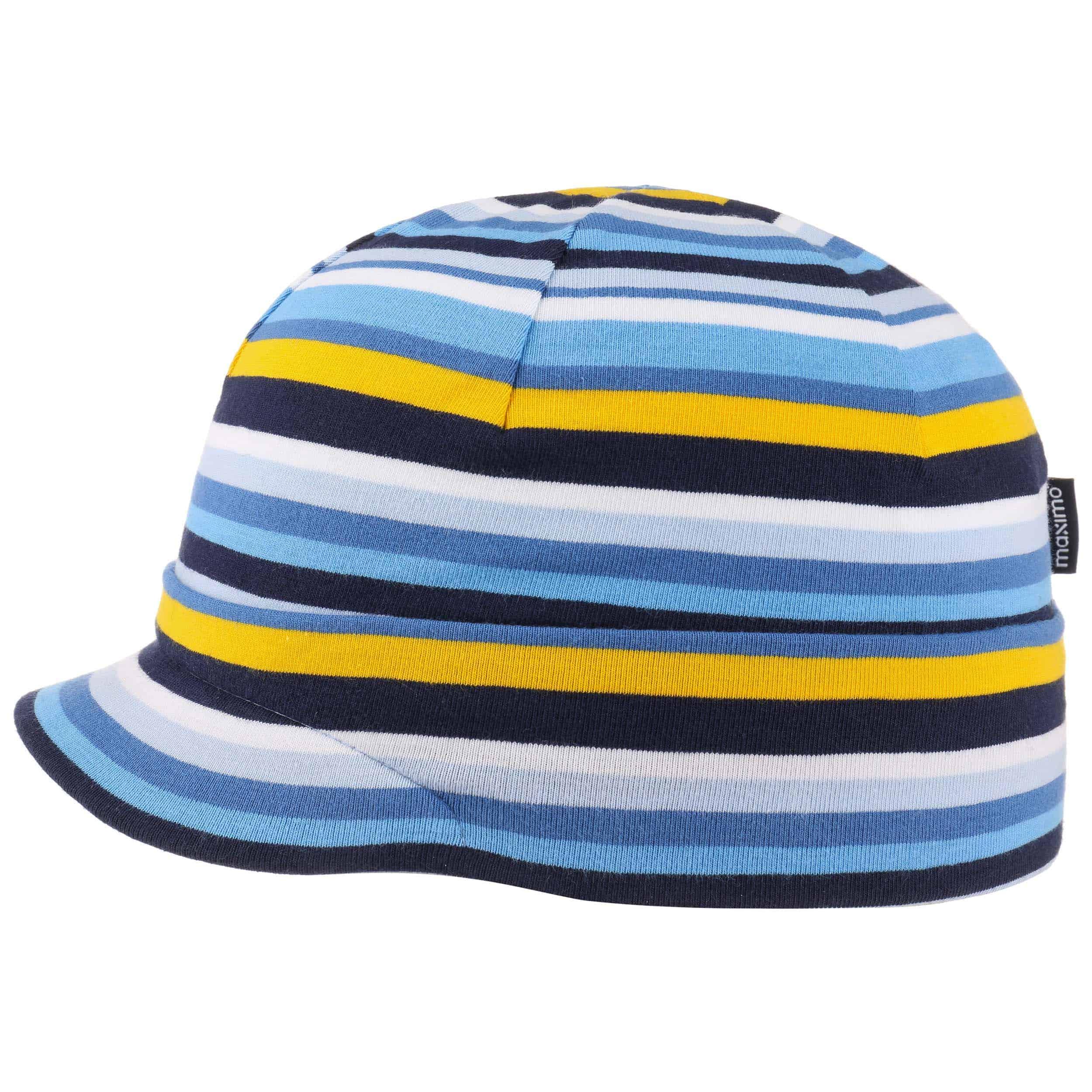 e812a1d1396 ... Jersey Stripes Kids Peak Hat by maximo - blue 4