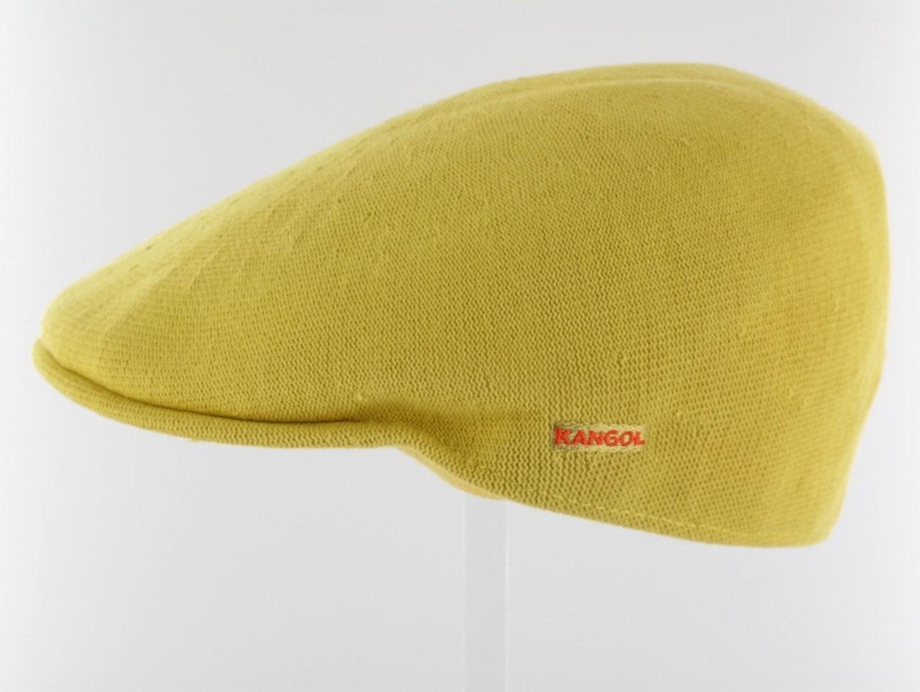 ... Kangol Bamboo Flat Cap 507 - yellow 1 ... 7d04d0e8018
