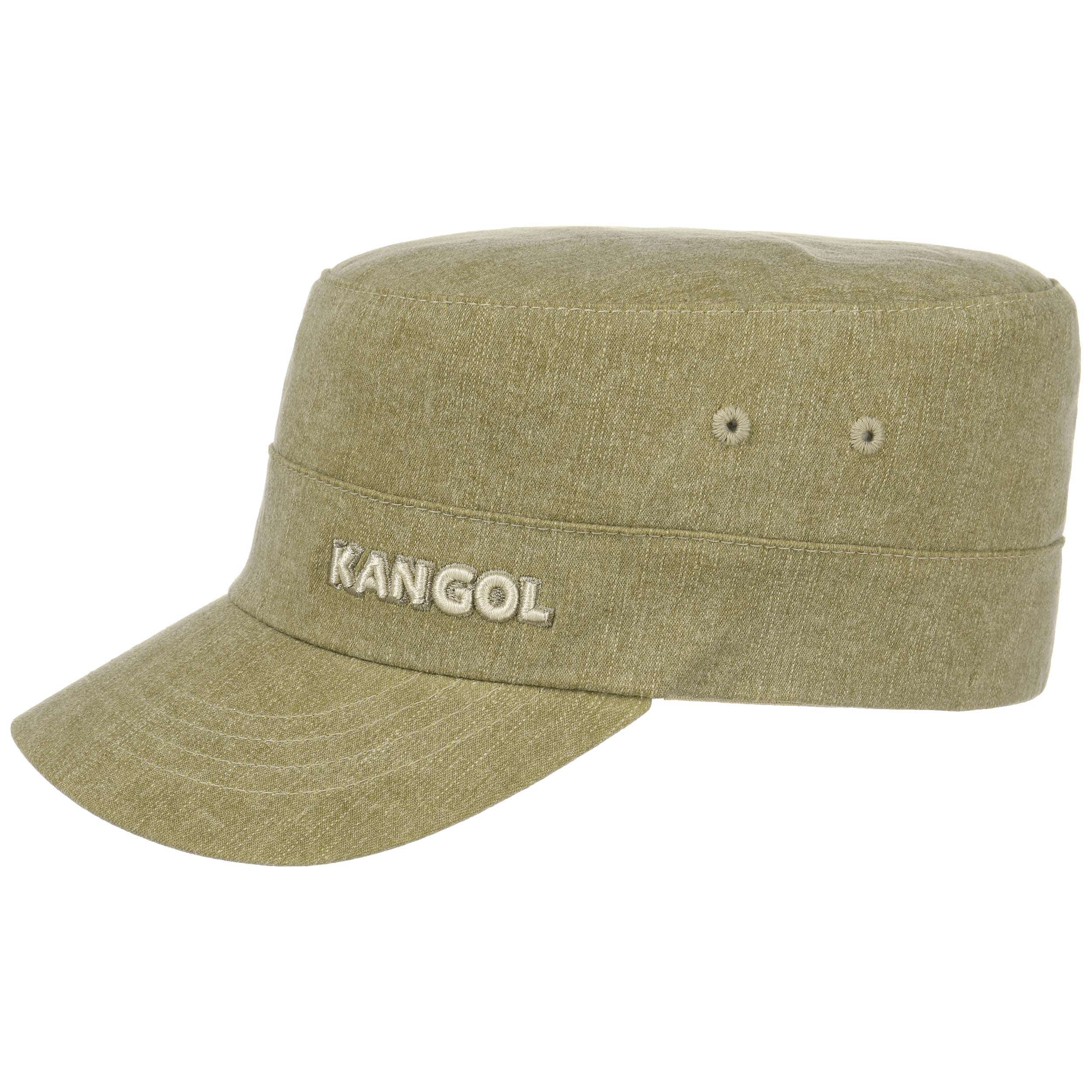 kangol flexfit denim army cap 4200