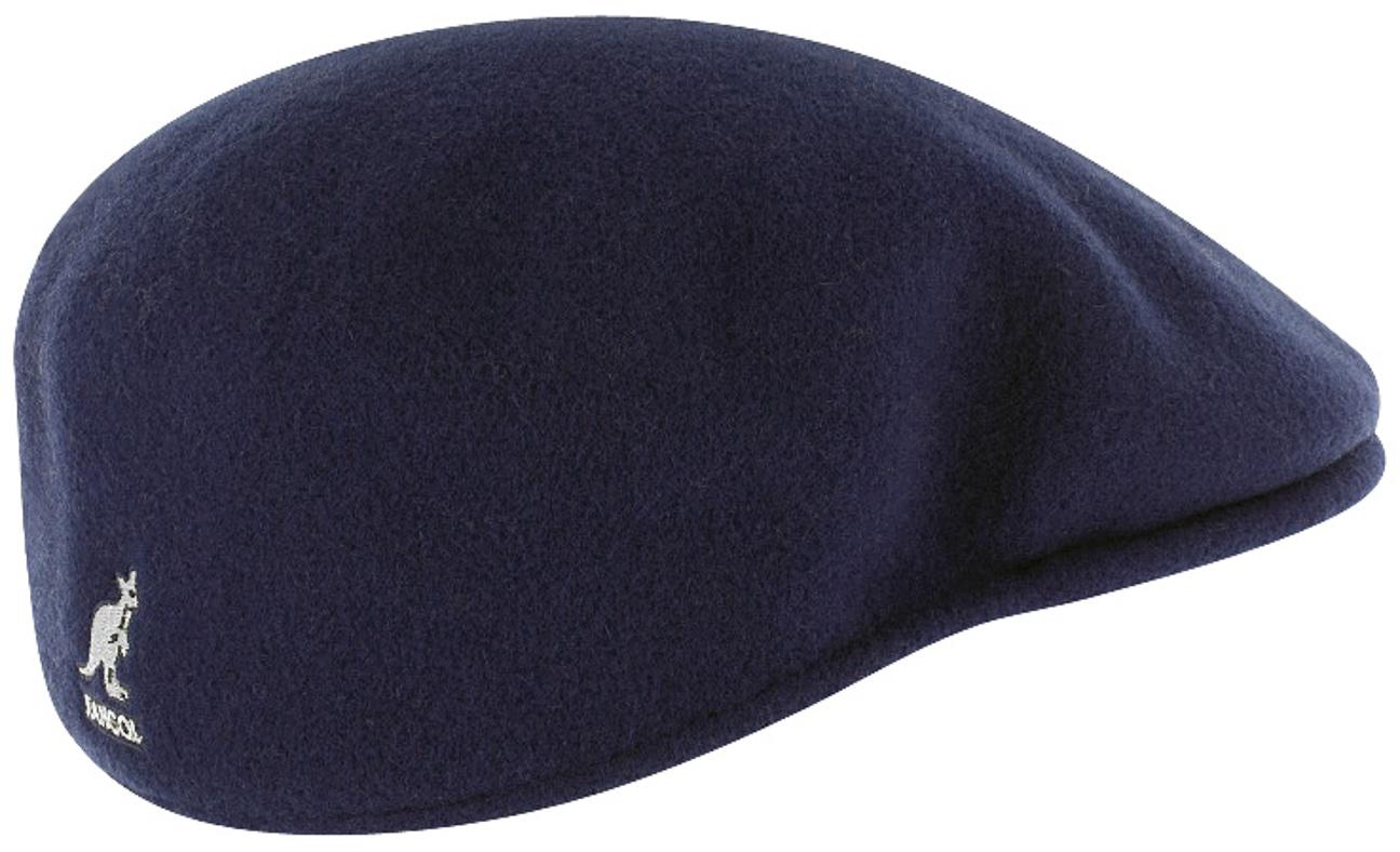 97754a8f0a4 ... Kangol Kids Original 504 Flat Cap - blue 1 ...