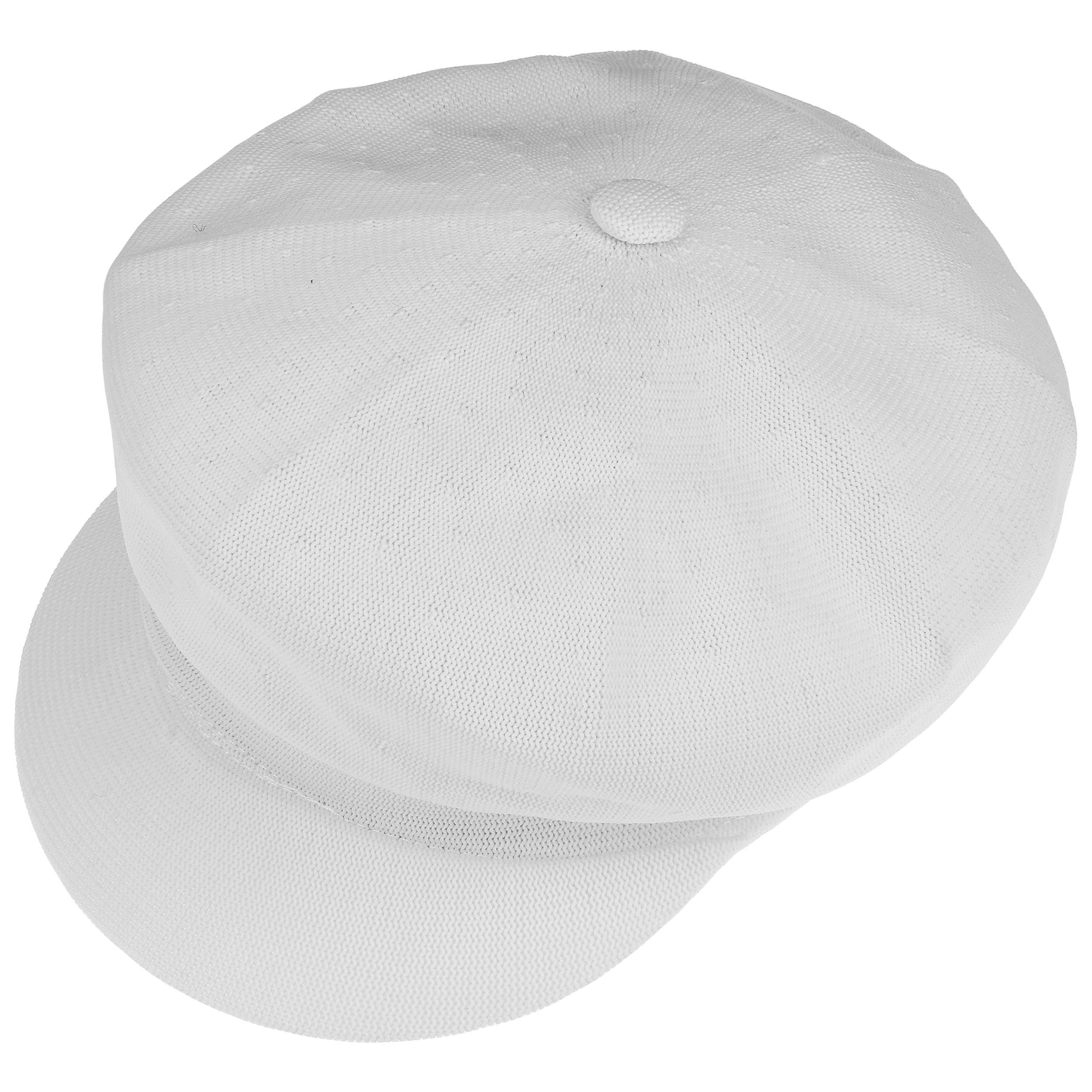 1504bc04328 ... Kangol Tropic Spitfire Newsboy Cap - white 1 ...
