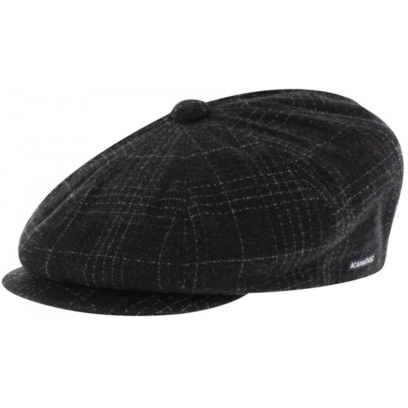 Kangol Tweed Ripley Cap - anthracite 1 2d40a6e2718