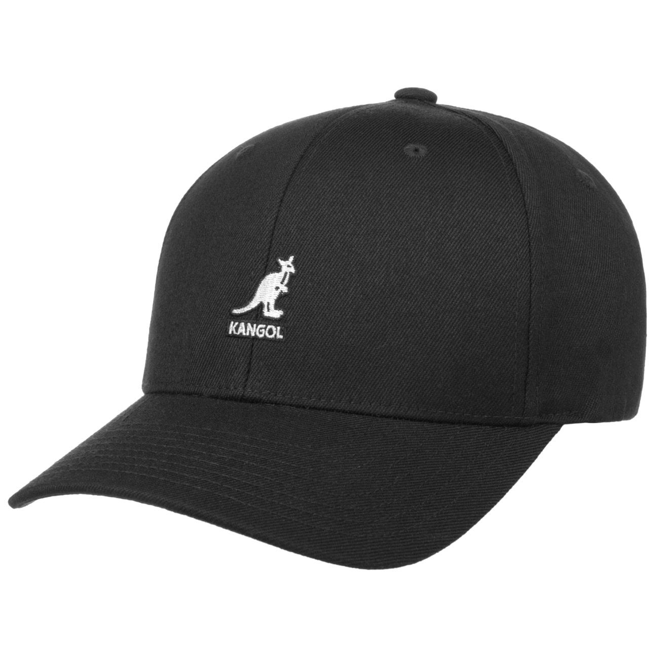 ... Kangol Wool Flexfit Cap - black 1 cce036bc572
