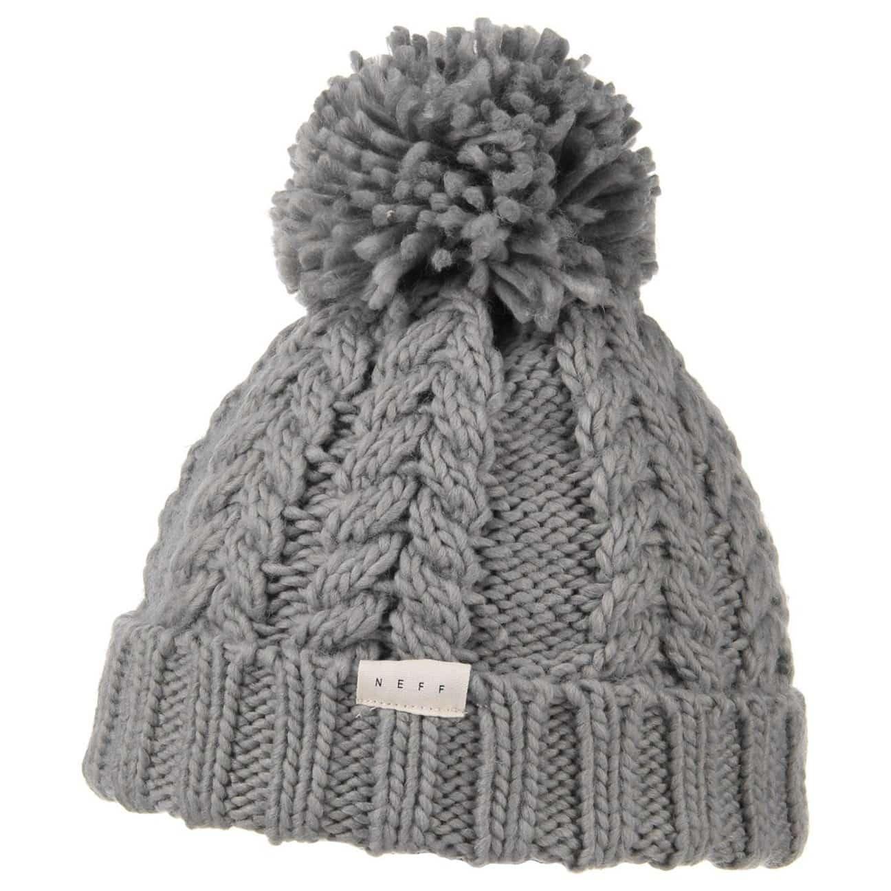 kaycee pompom hat by neff eur 19 95 hats caps beanies shop online. Black Bedroom Furniture Sets. Home Design Ideas
