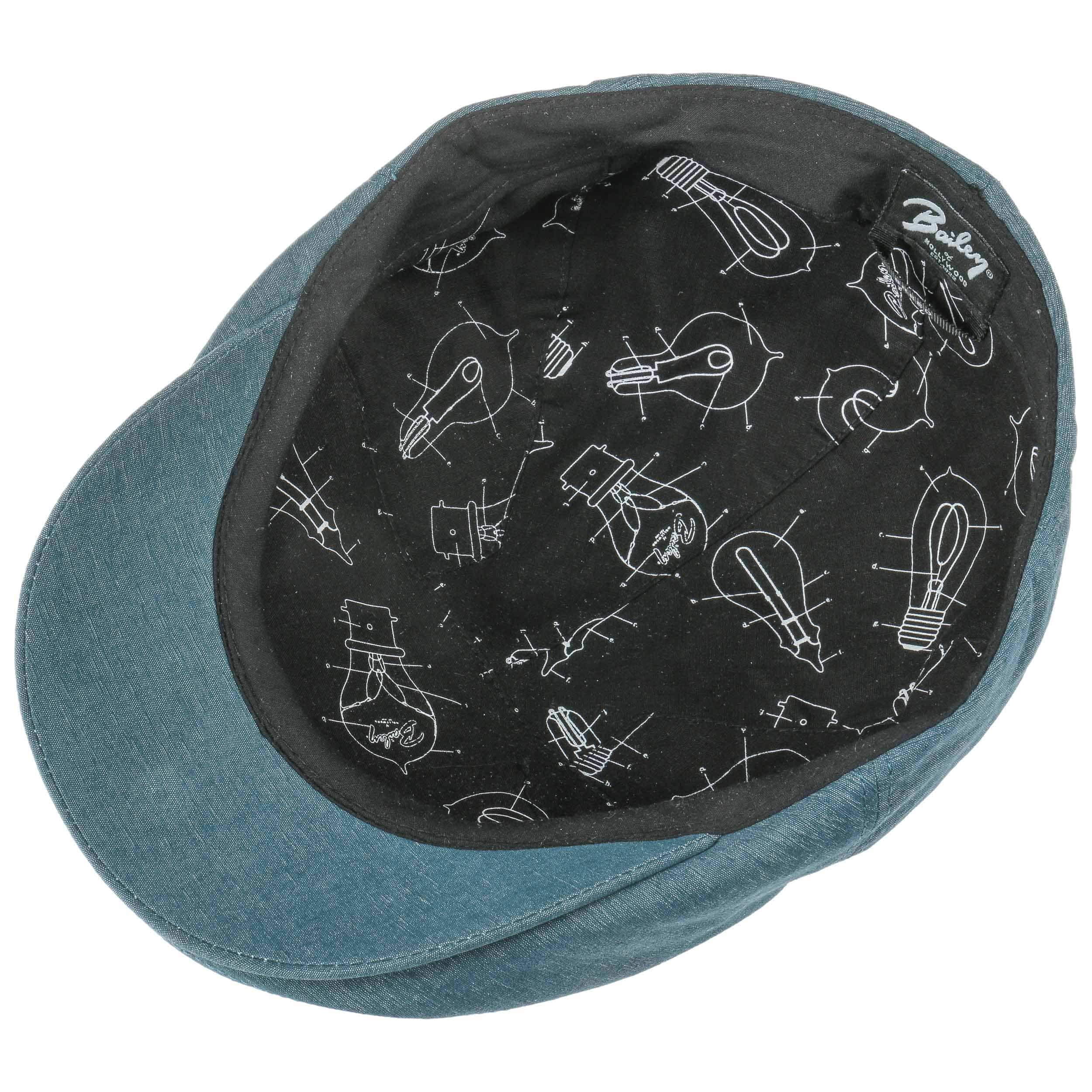 8206df1e47ce ... Keter Flat Cap by Bailey of Hollywood - blue 2 ...
