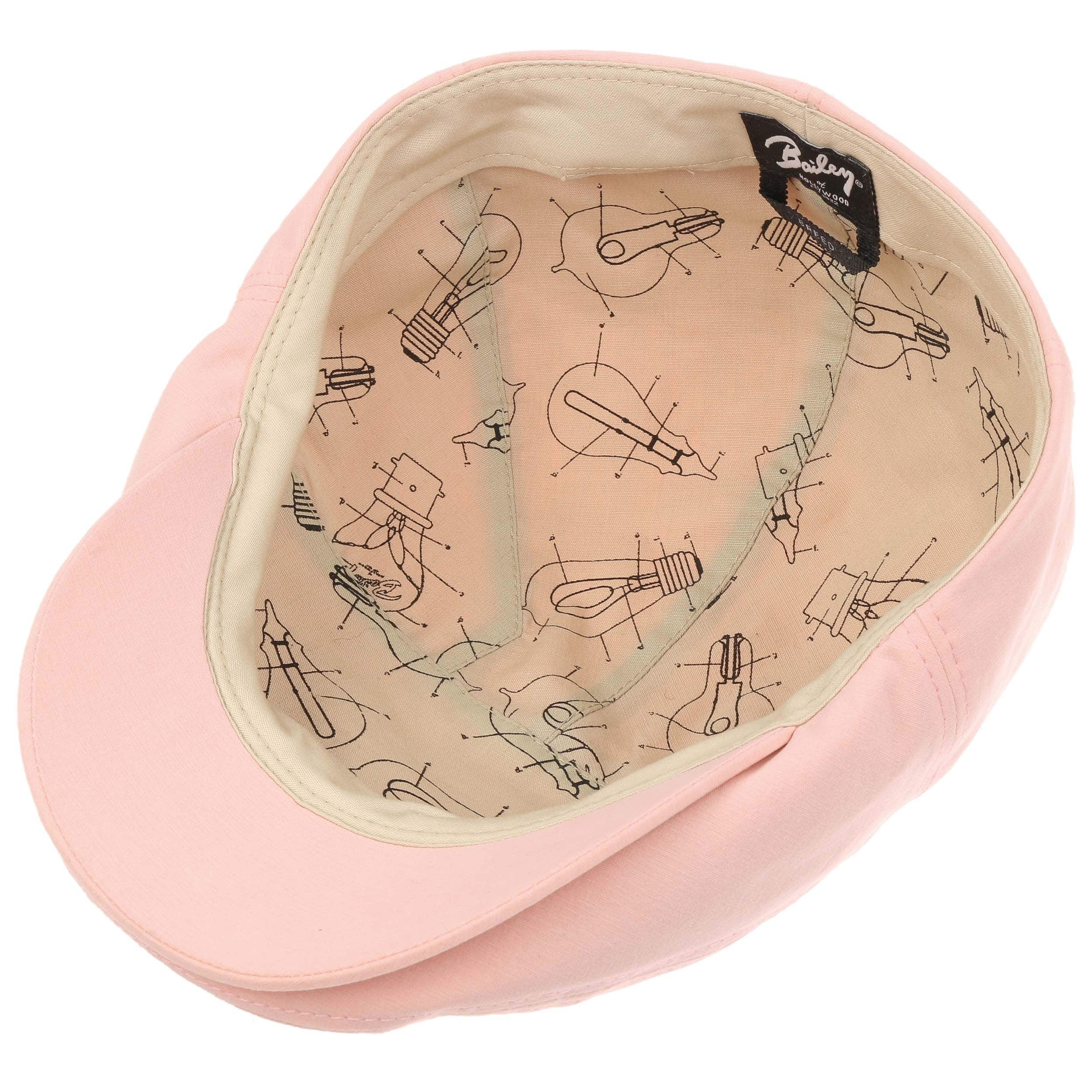 b02f79bb1b20 ... Keter Flat Cap by Bailey of Hollywood - rose 2 ...