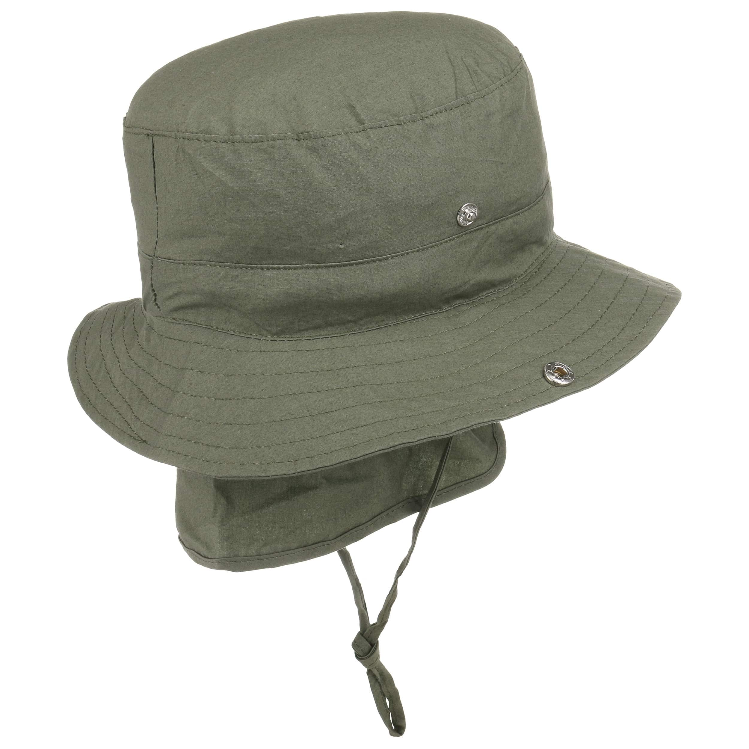 ... Kids Safari Hat with Neck Drape by Döll - olive 1 ... d4715df9fba